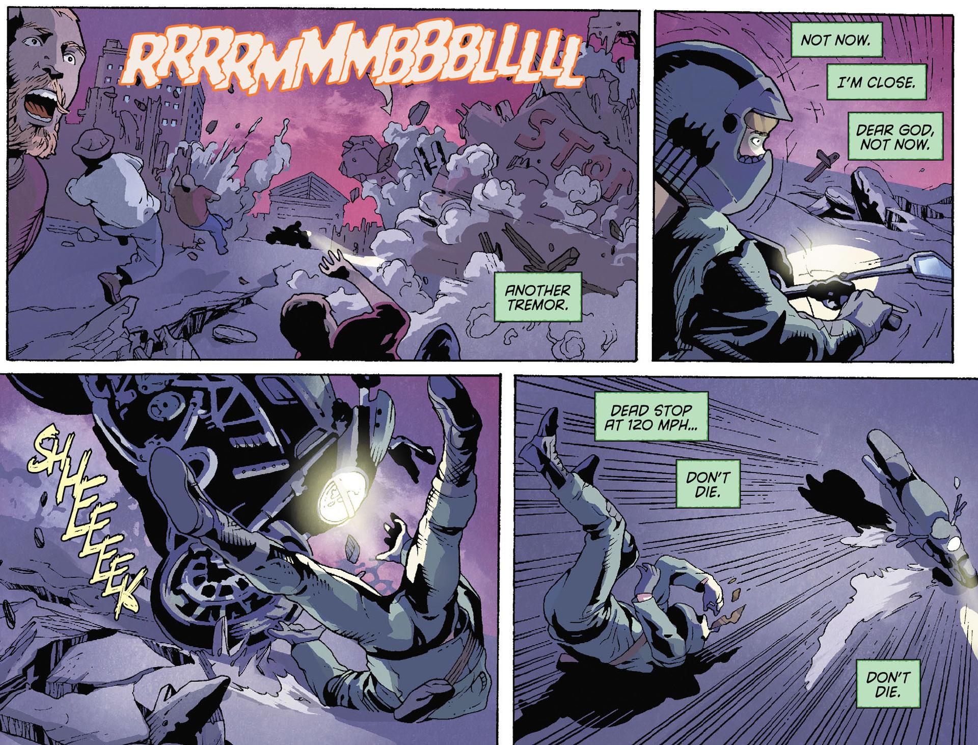 Read online Arrow [II] comic -  Issue #35 - 18