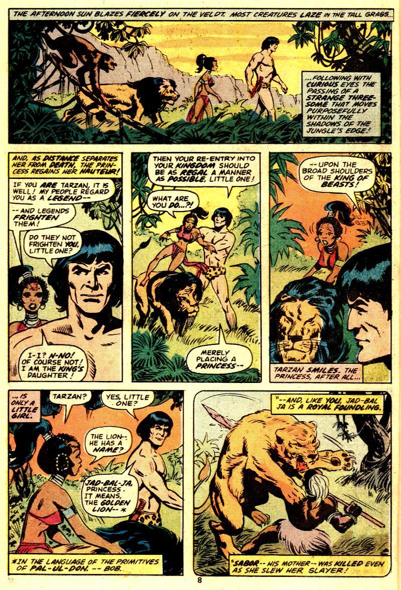 Read online Tarzan (1977) comic -  Issue # _Annual 2 - 7