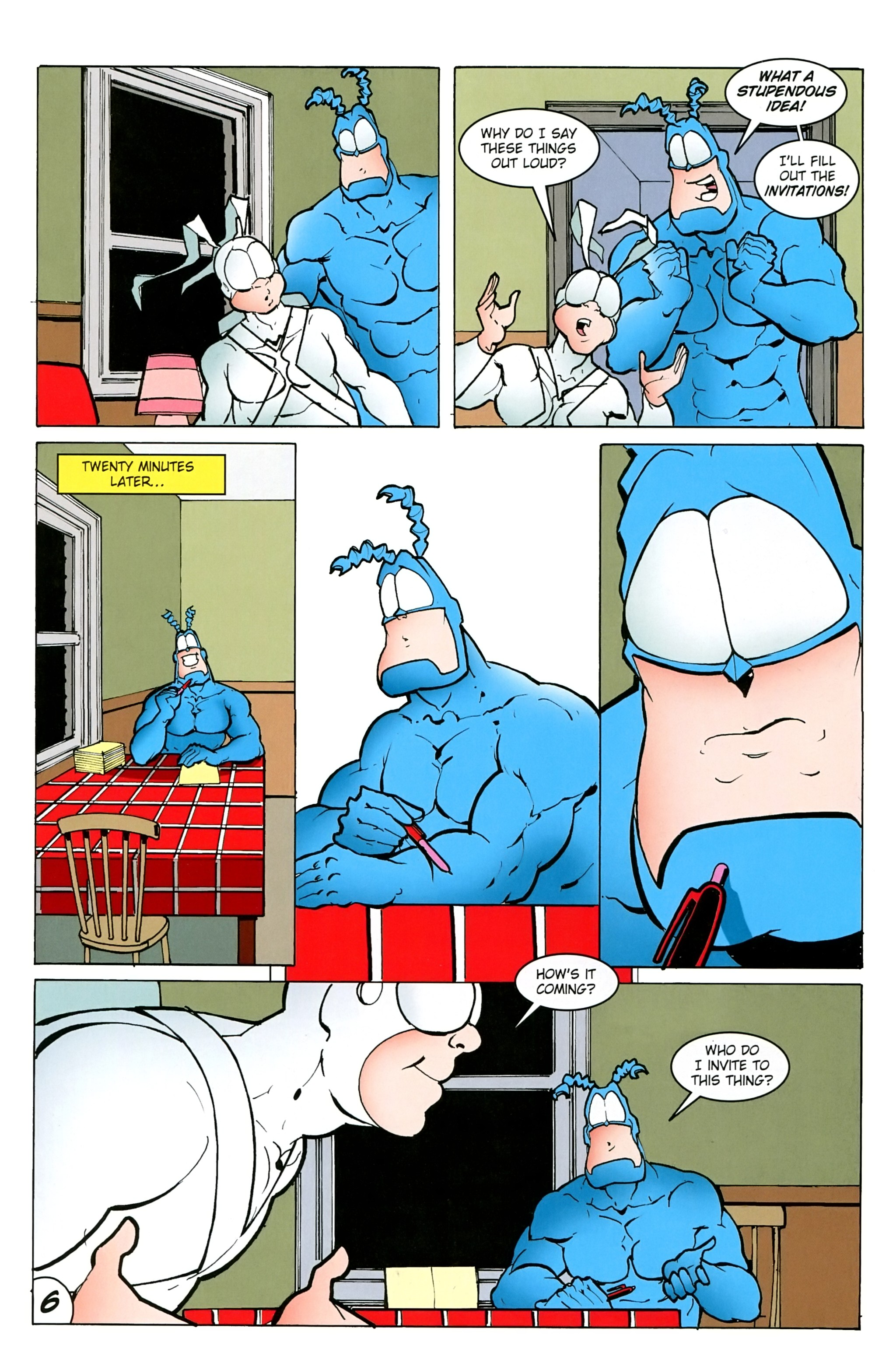 Read online Free Comic Book Day 2017 comic -  Issue # The Tick - 8