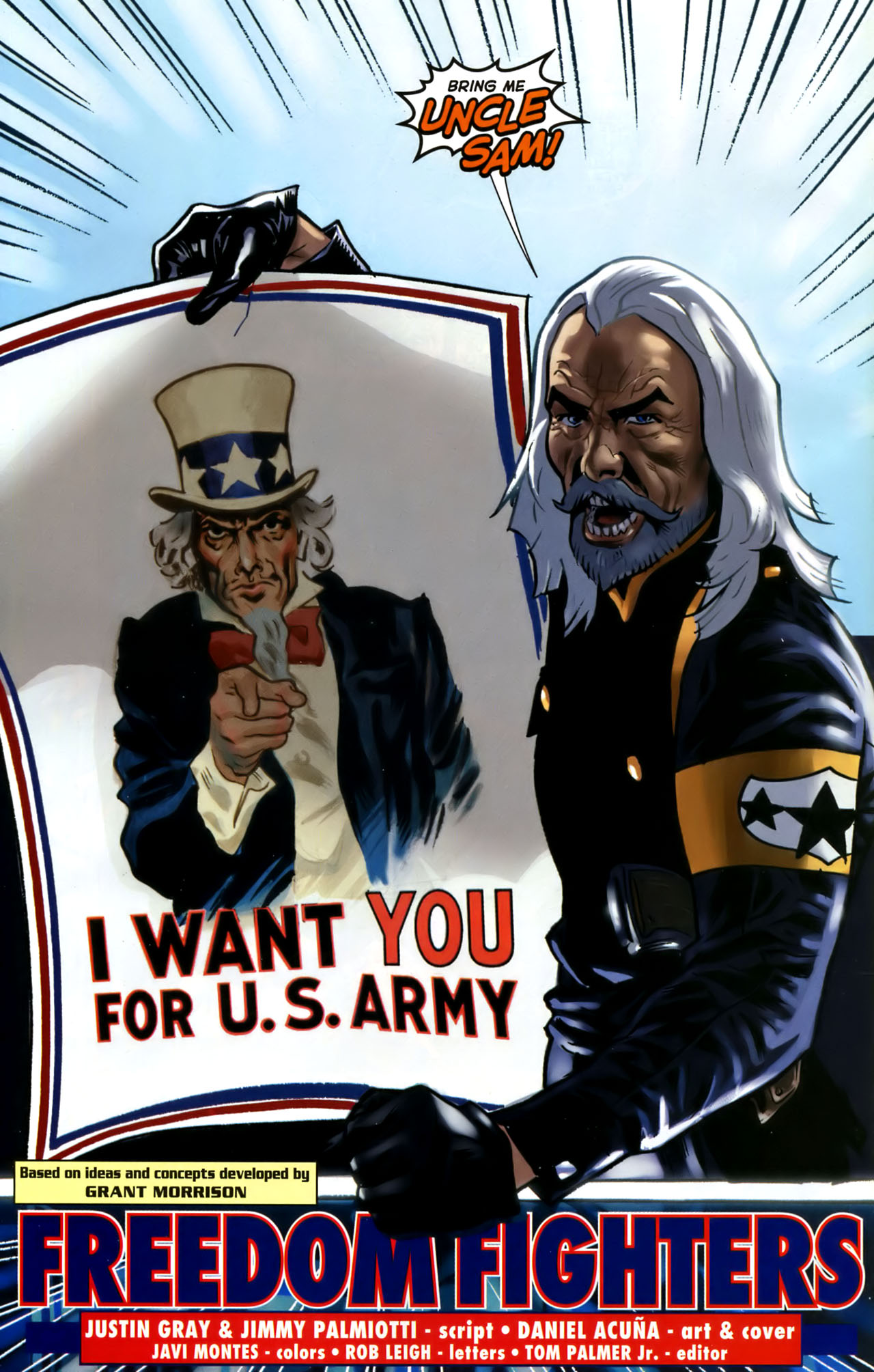 Read online Uncle Sam and the Freedom Fighters (2006) comic -  Issue #1 - 22
