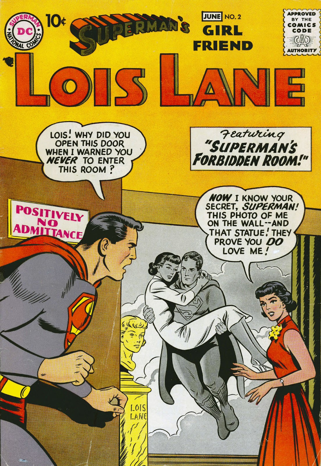 Supermans Girl Friend, Lois Lane 2 Page 1