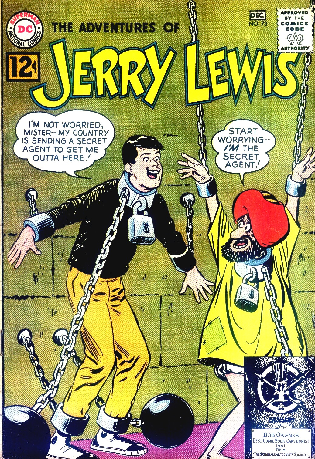 The Adventures of Jerry Lewis 73 Page 1