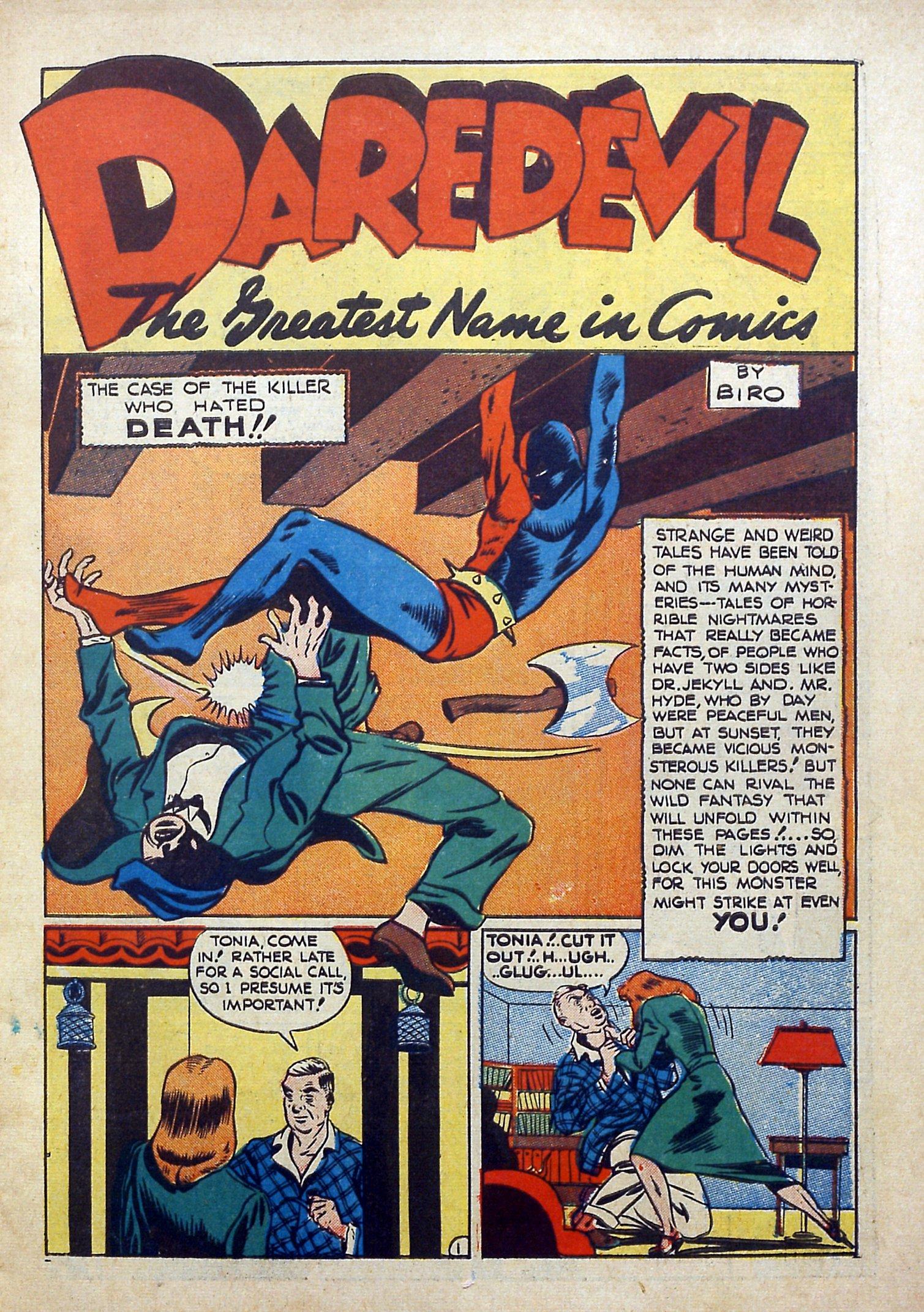 Daredevil (1941) issue 3 - Page 3