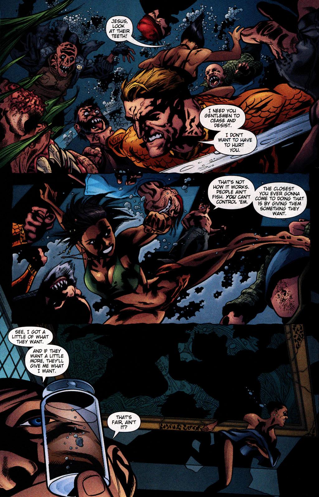 Read online Aquaman (2003) comic -  Issue #25 - 17