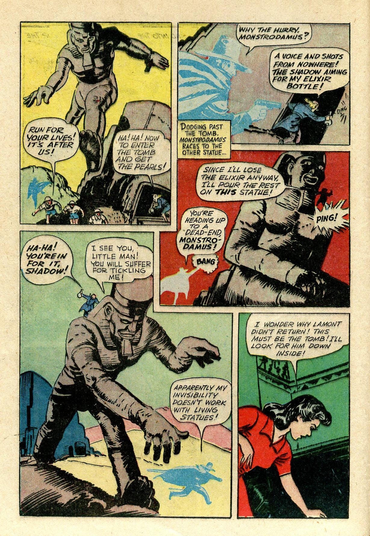 Read online Shadow Comics comic -  Issue #33 - 12