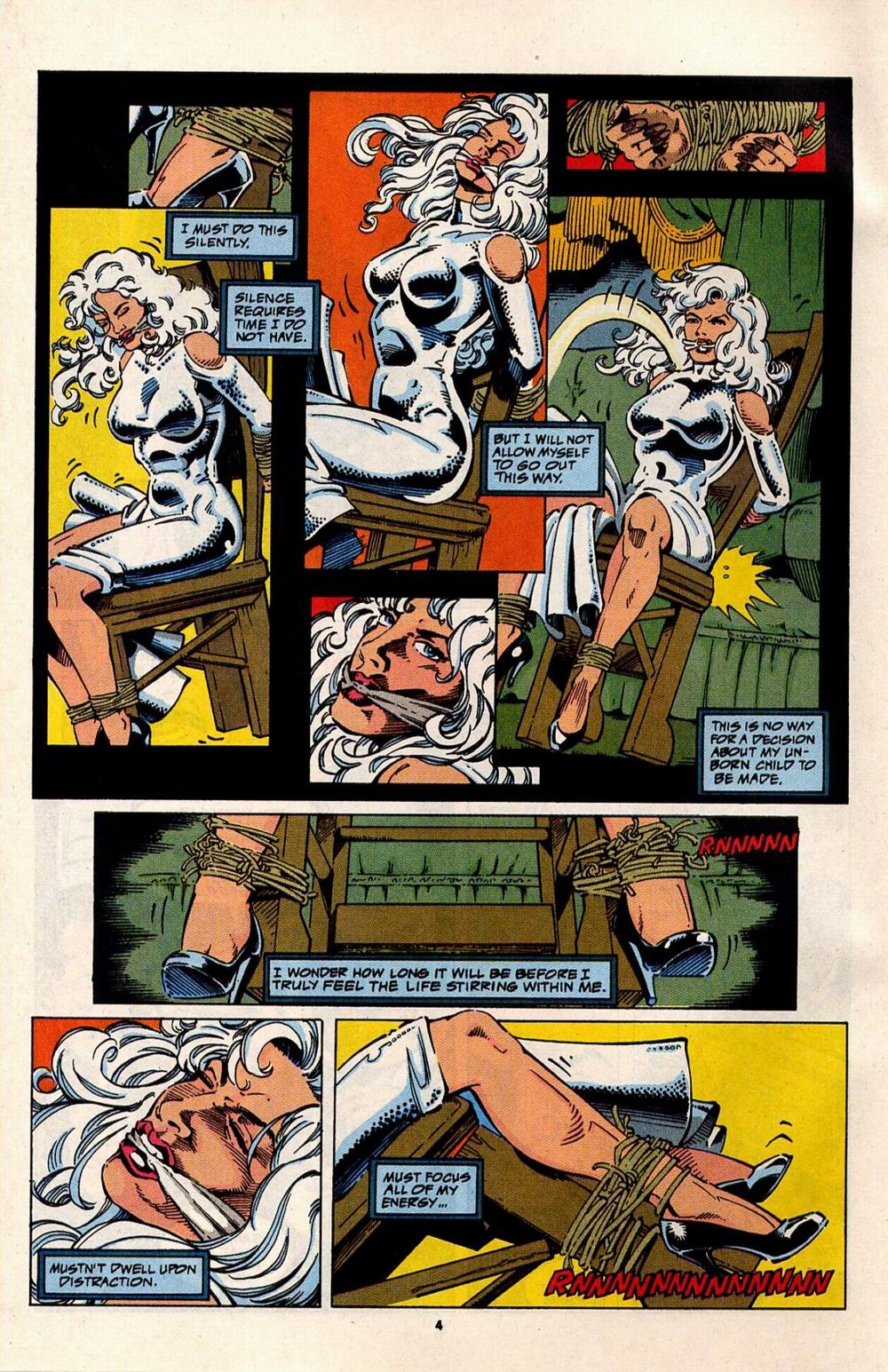 Read online Silver Sable and the Wild Pack comic -  Issue #32 - 5