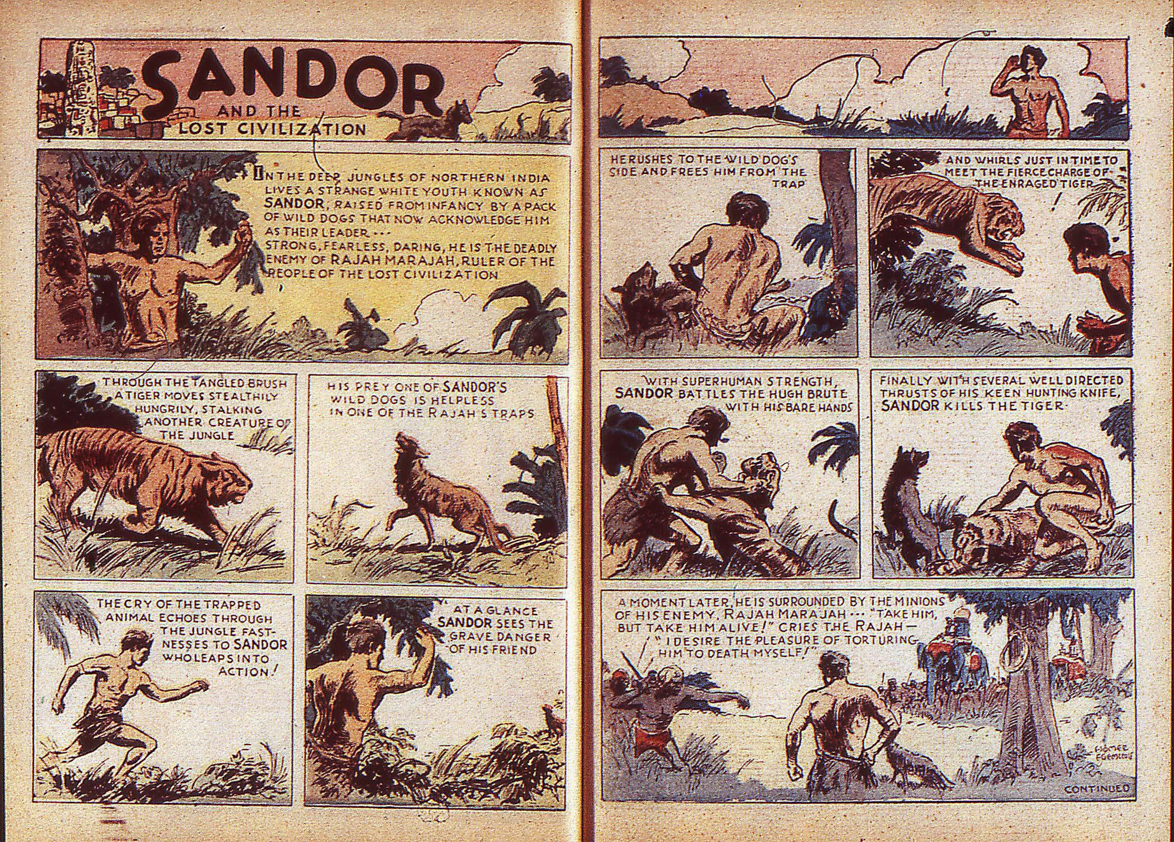 Read online Adventure Comics (1938) comic -  Issue #5 - 10