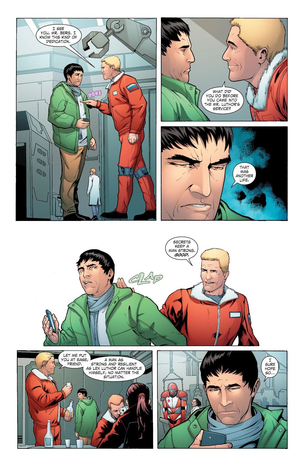 Read online Smallville Season 11 [II] comic -  Issue # TPB 6 - 129