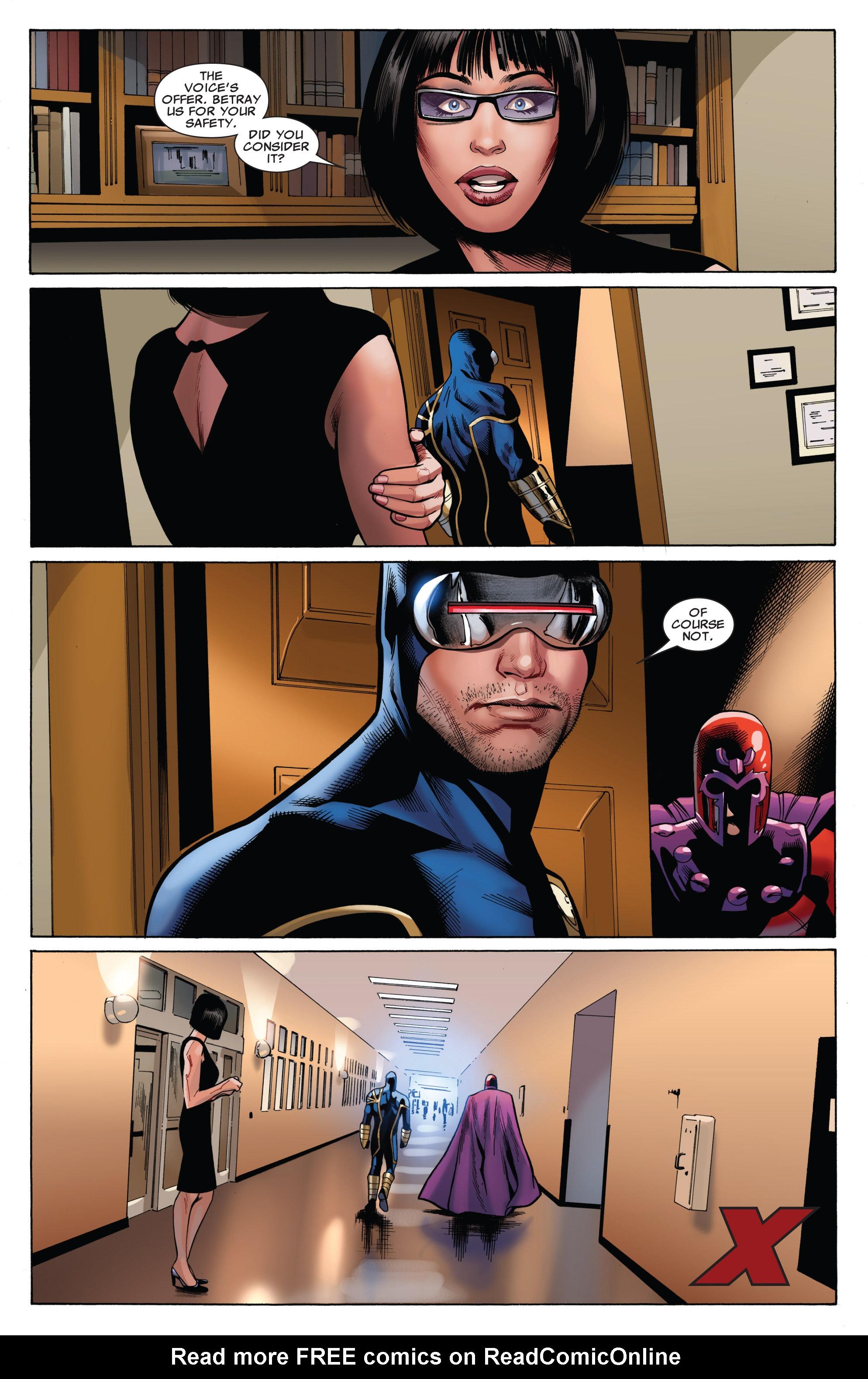 Read online Uncanny X-Men (1963) comic -  Issue #543 - 22