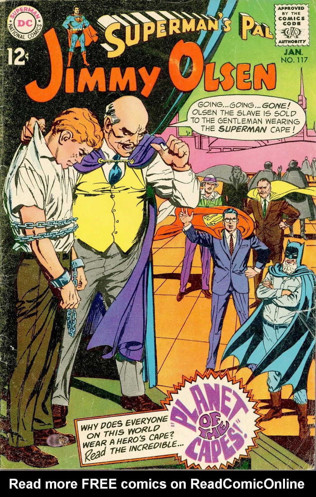 Supermans Pal Jimmy Olsen (1954) 117 Page 1
