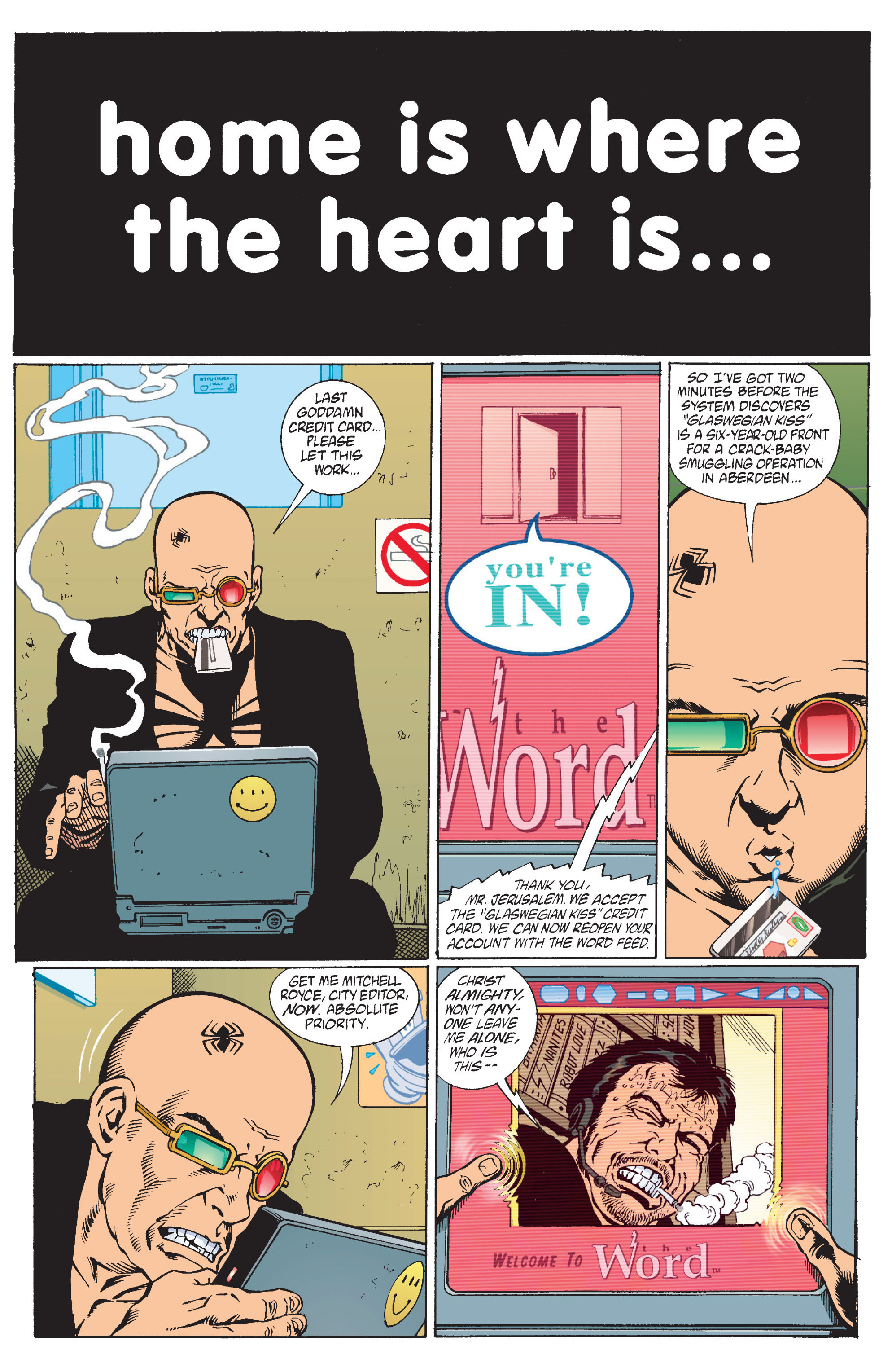 Read online Transmetropolitan comic -  Issue #11 - 18