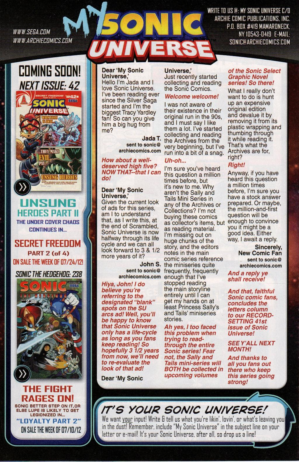 Read online Sonic Universe comic -  Issue #41 - 34
