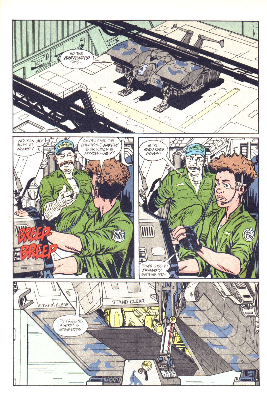 Read online Aliens: Colonial Marines comic -  Issue #9 - 11