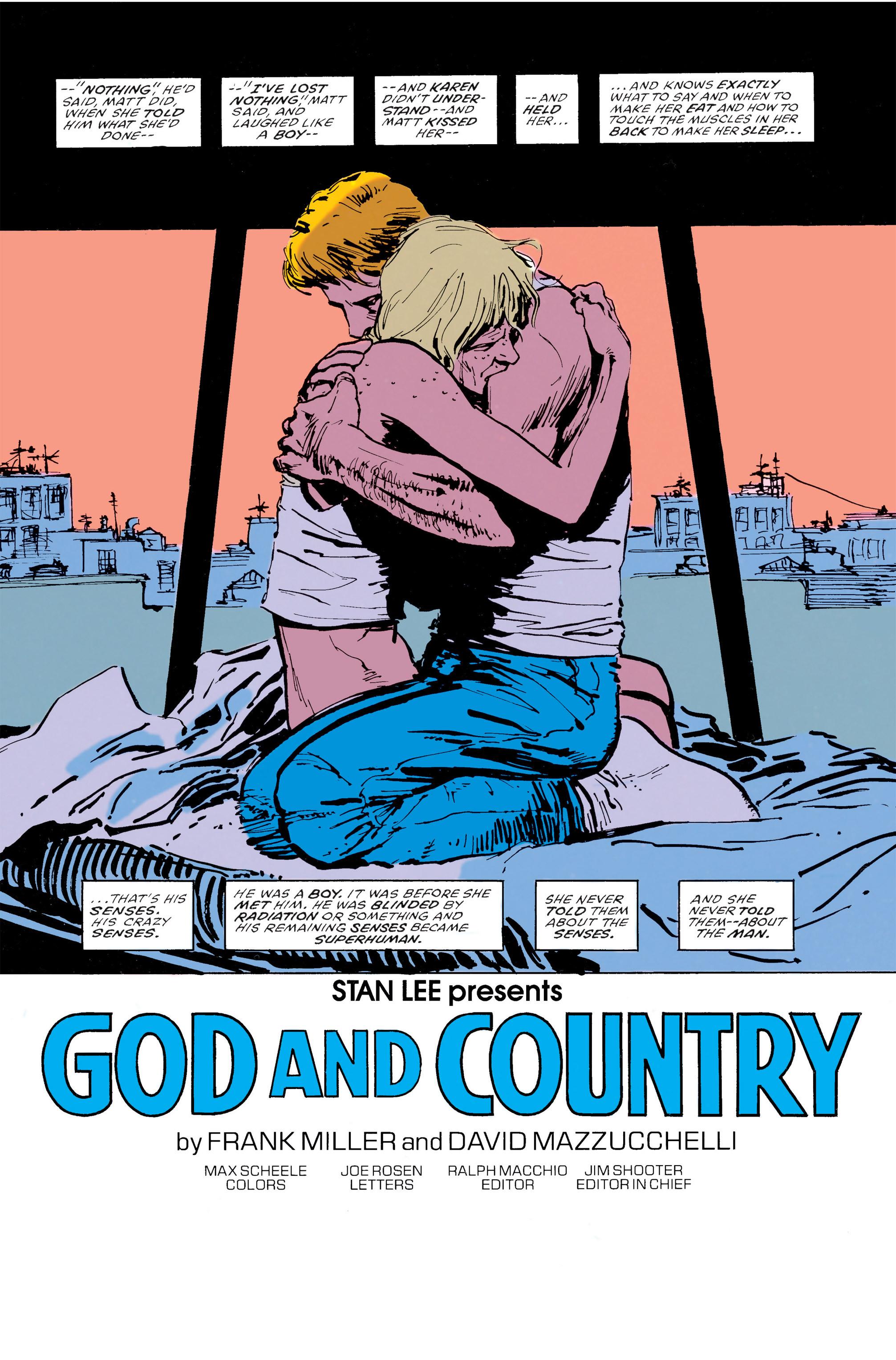 Read online Daredevil: Born Again comic -  Issue # Full - 152