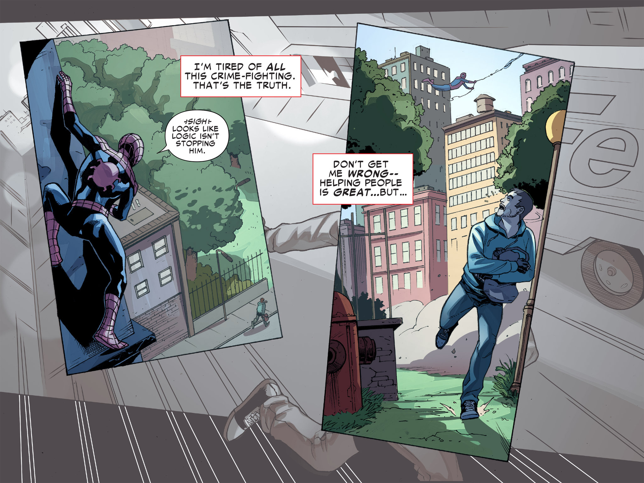 Read online Ultimate Spider-Man (Infinite Comics) (2016) comic -  Issue #8 - 4