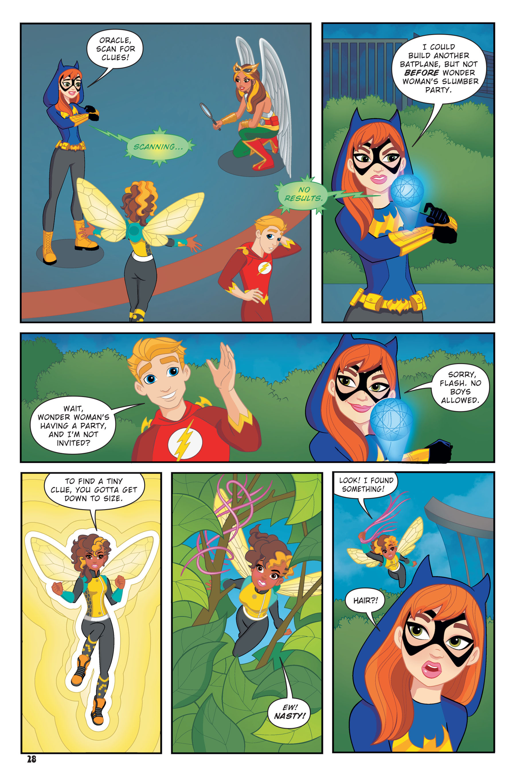 Read online DC Super Hero Girls: Hits and Myths comic -  Issue # Full - 26