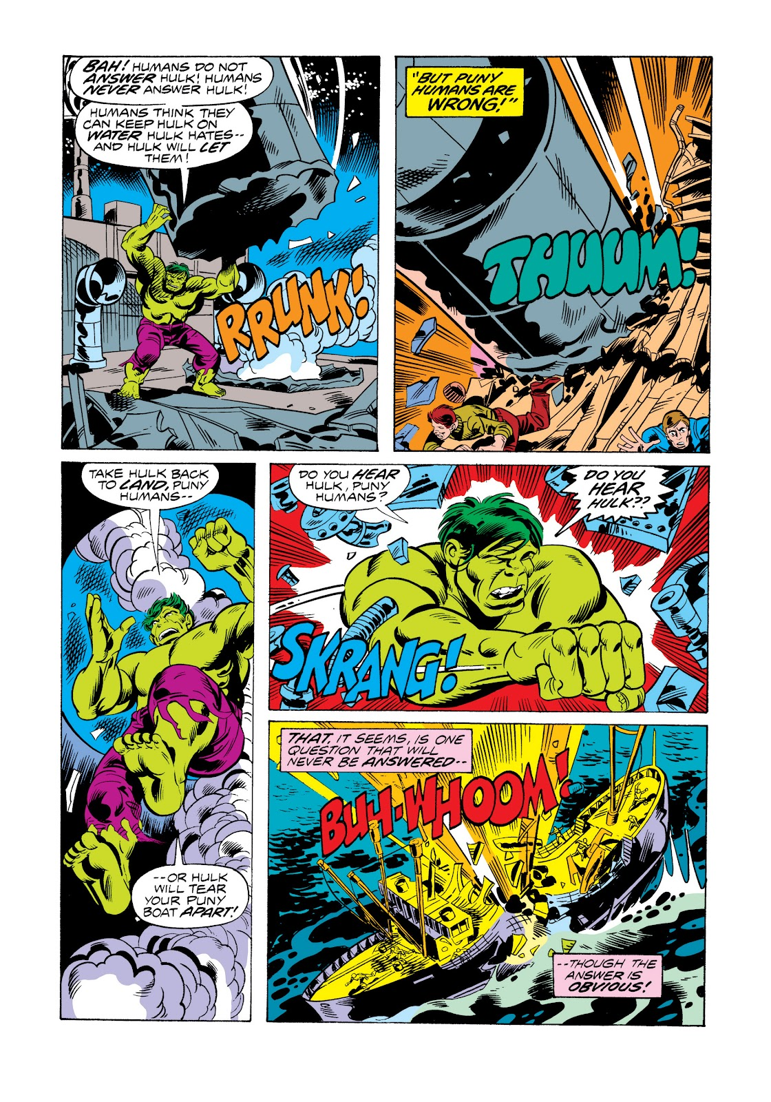 Read online Marvel Masterworks: The Incredible Hulk comic -  Issue # TPB 11 (Part 2) - 82