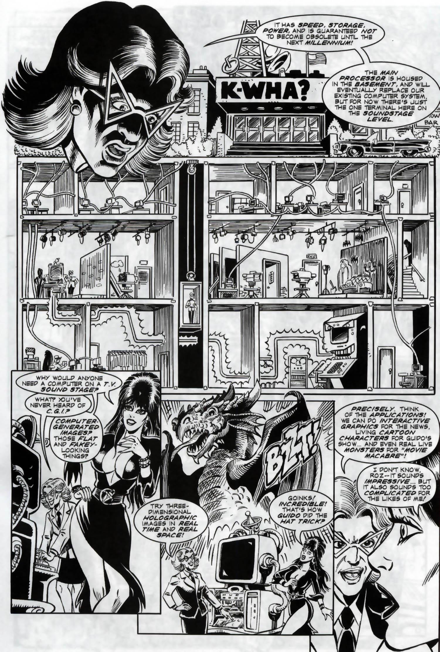 Read online Elvira, Mistress of the Dark comic -  Issue #119 - 5