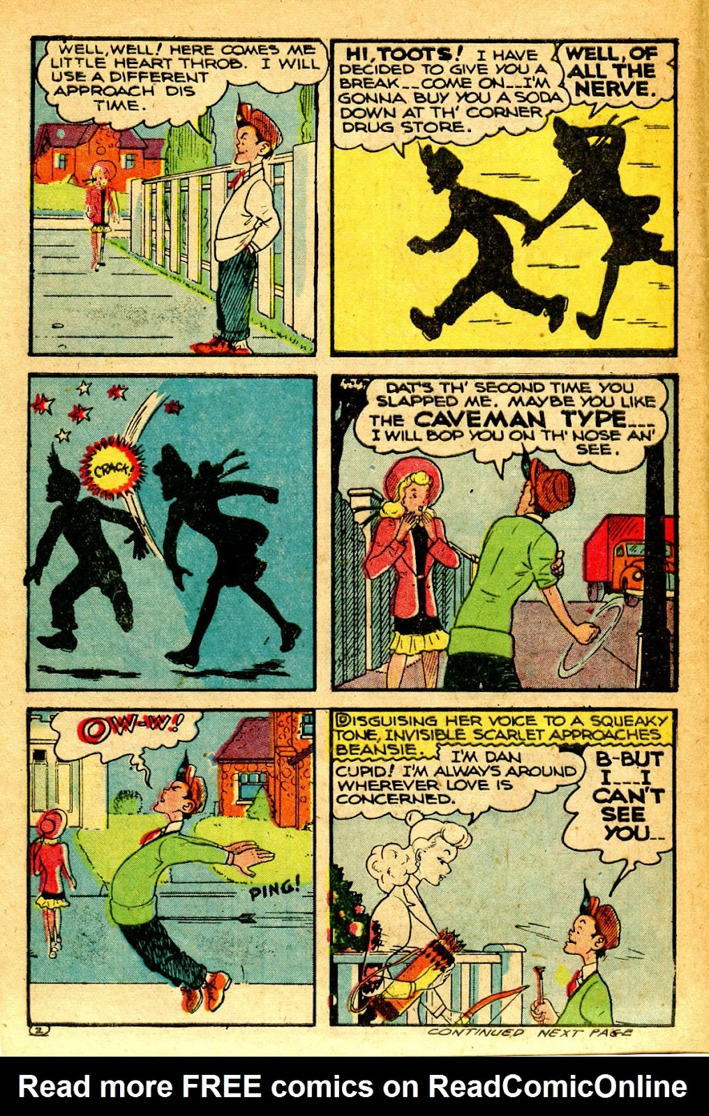 Read online Famous Funnies comic -  Issue #126 - 14