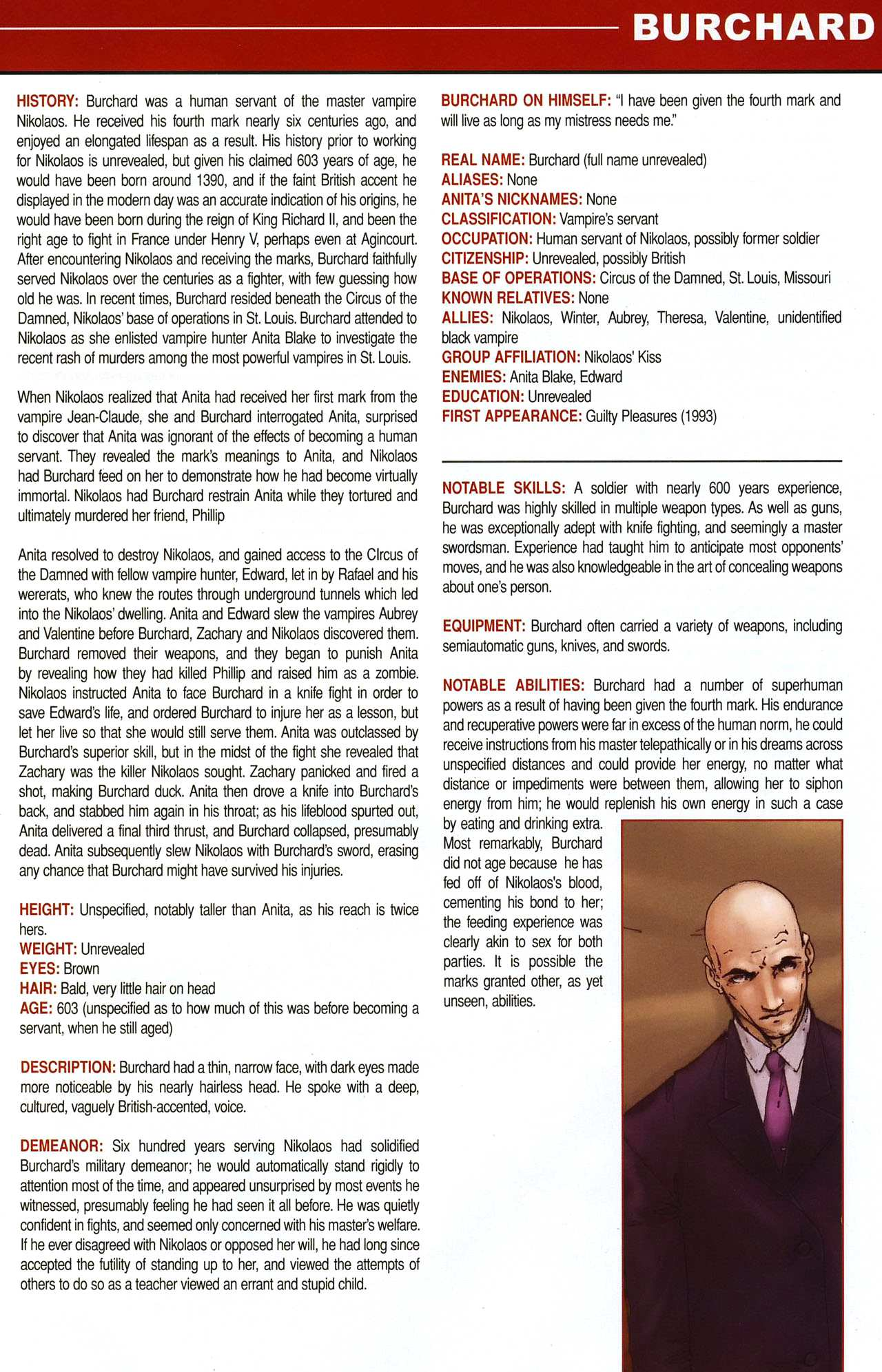 Read online Anita Blake, Vampire Hunter: Guilty Pleasures Handbook comic -  Issue #Anita Blake, Vampire Hunter: Guilty Pleasures Handbook Full - 11