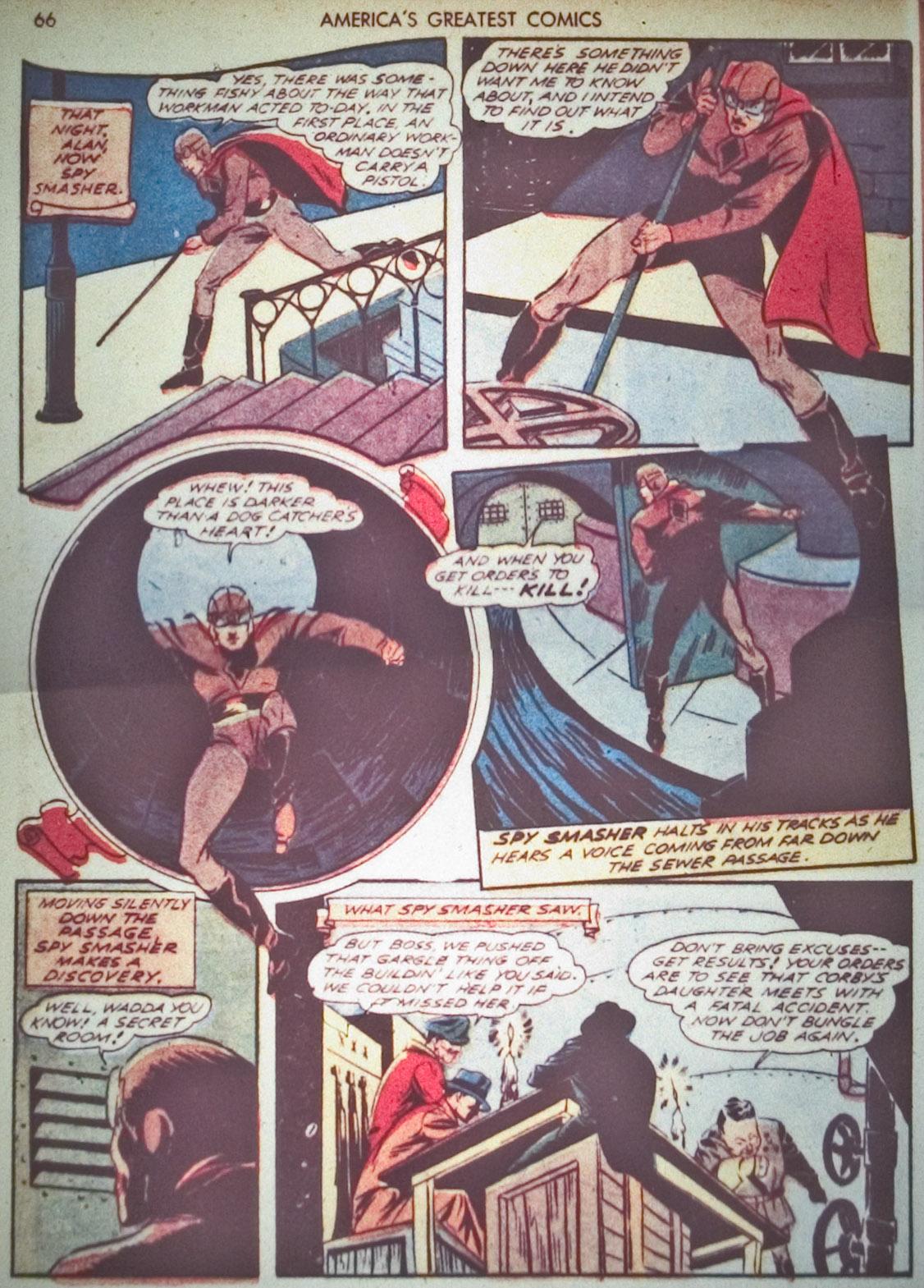 Read online America's Greatest Comics comic -  Issue #1 - 69