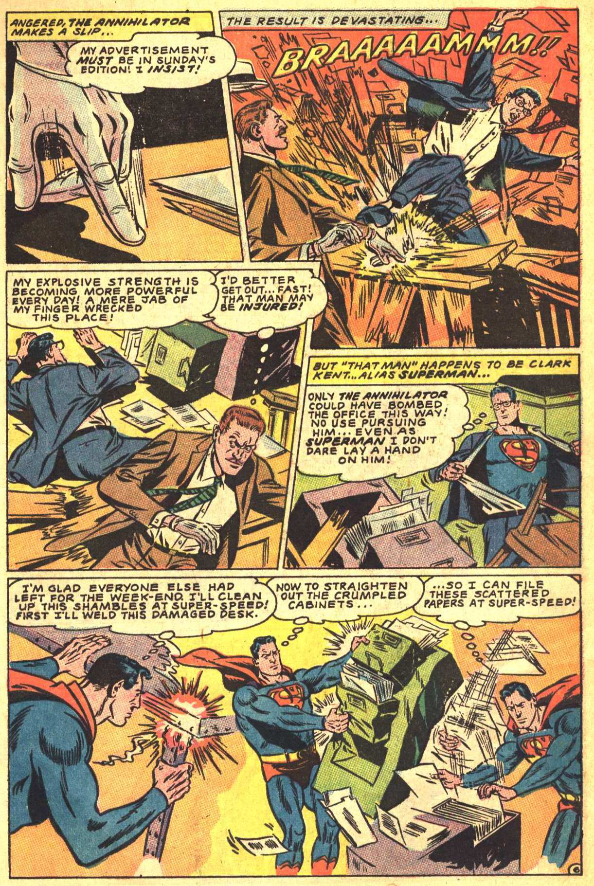 Read online Action Comics (1938) comic -  Issue #356 - 7