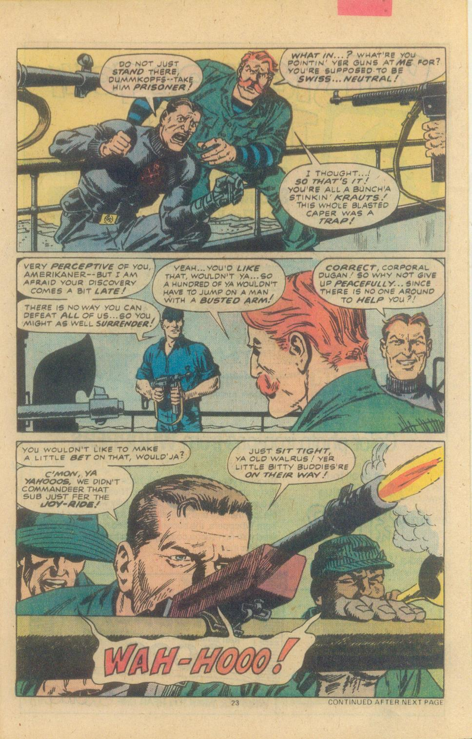 Read online Sgt. Fury comic -  Issue #155 - 25