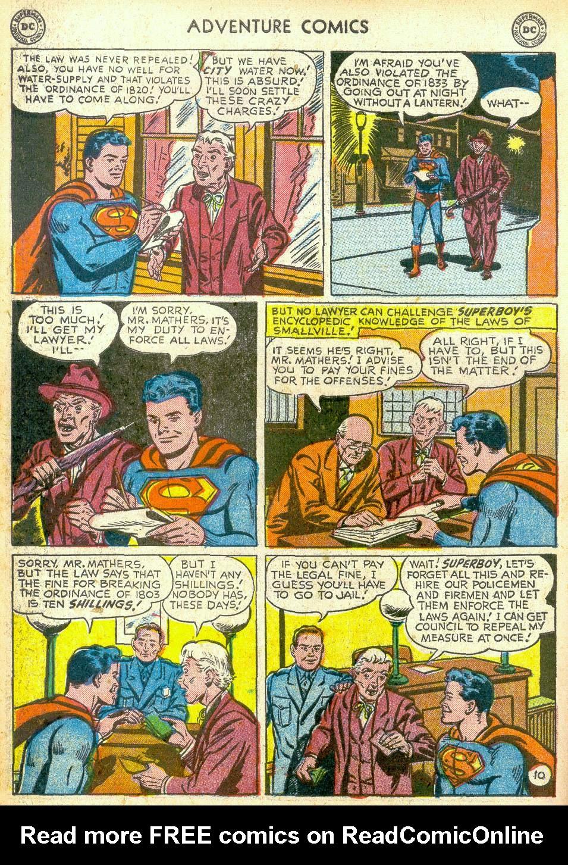 Read online Adventure Comics (1938) comic -  Issue #172 - 12