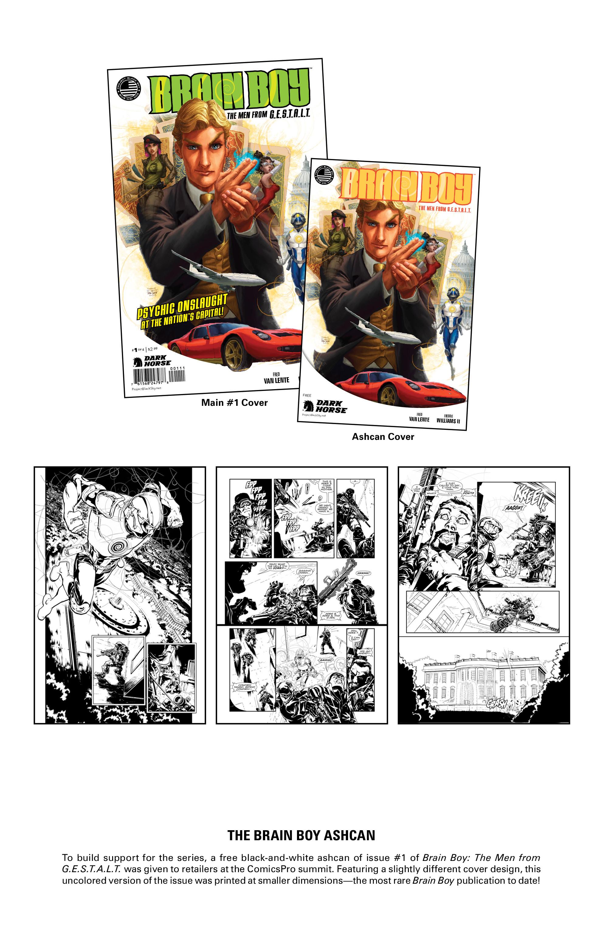 Read online Brain Boy:  The Men from G.E.S.T.A.L.T. comic -  Issue # TPB - 107