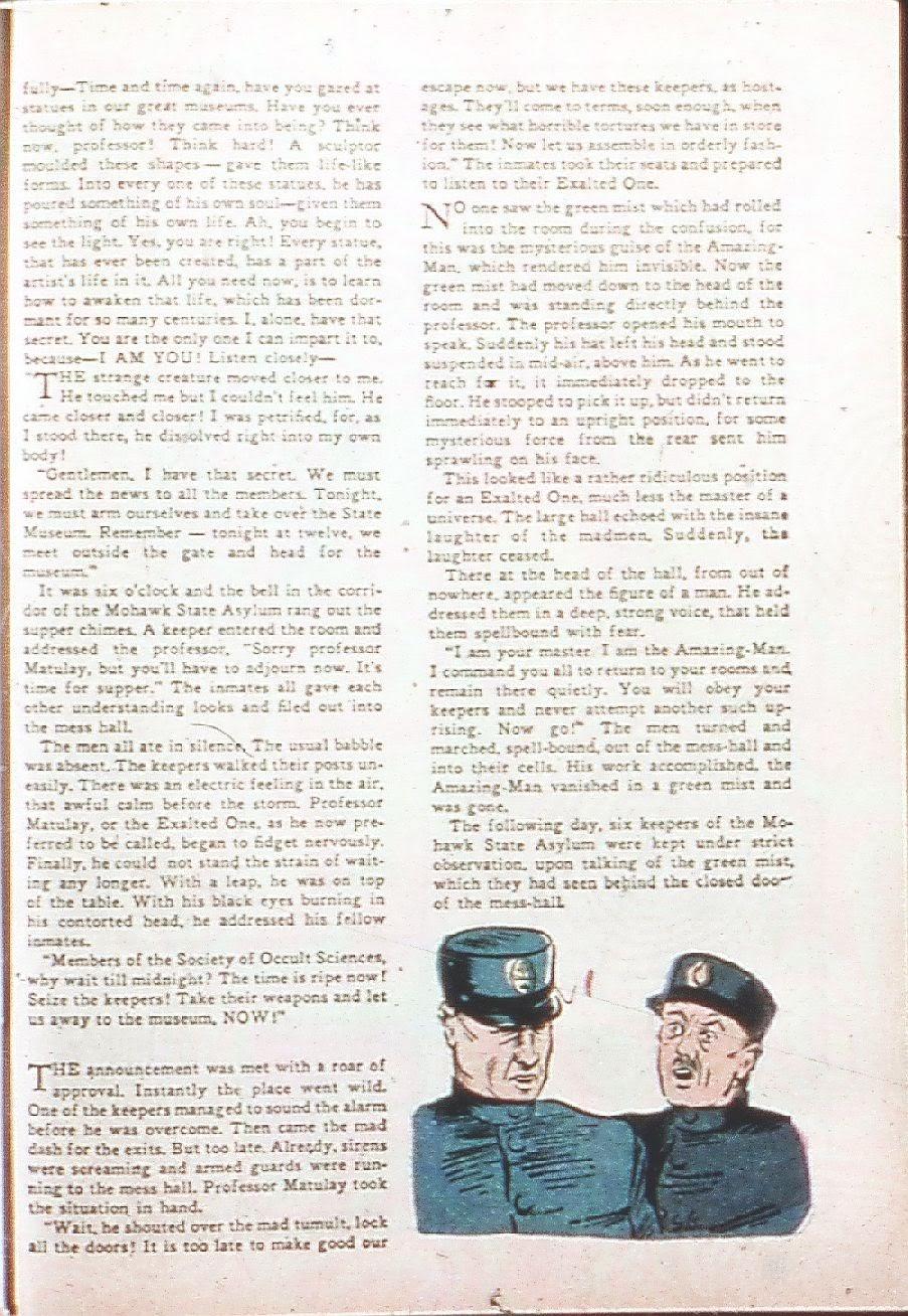 Read online Amazing Man Comics comic -  Issue #9 - 52