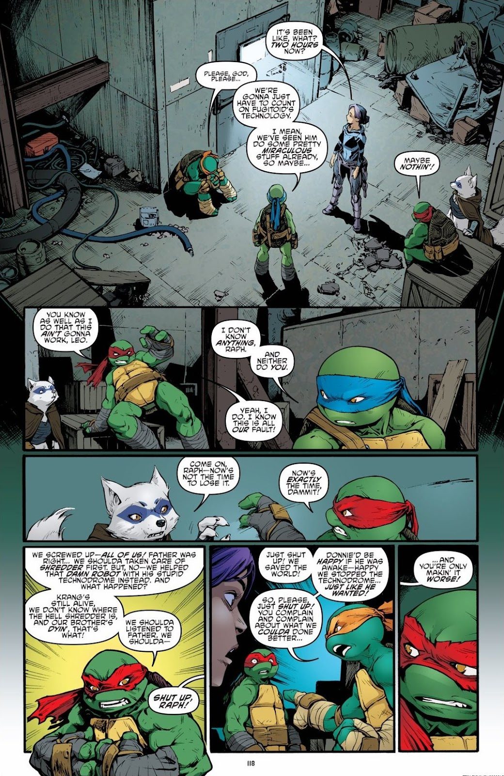 Read online Teenage Mutant Ninja Turtles: The IDW Collection comic -  Issue # TPB 6 (Part 2) - 17