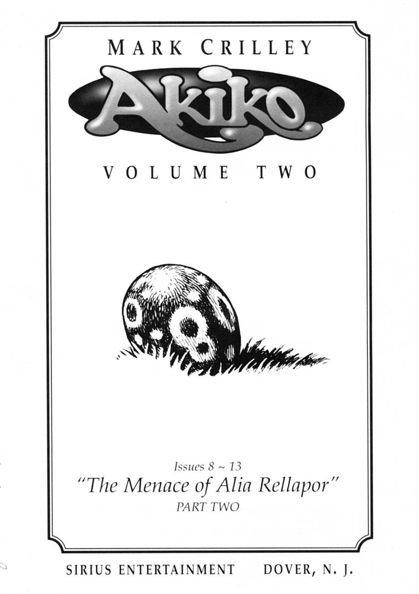 Read online Akiko comic -  Issue #Akiko _TPB 2 - 2