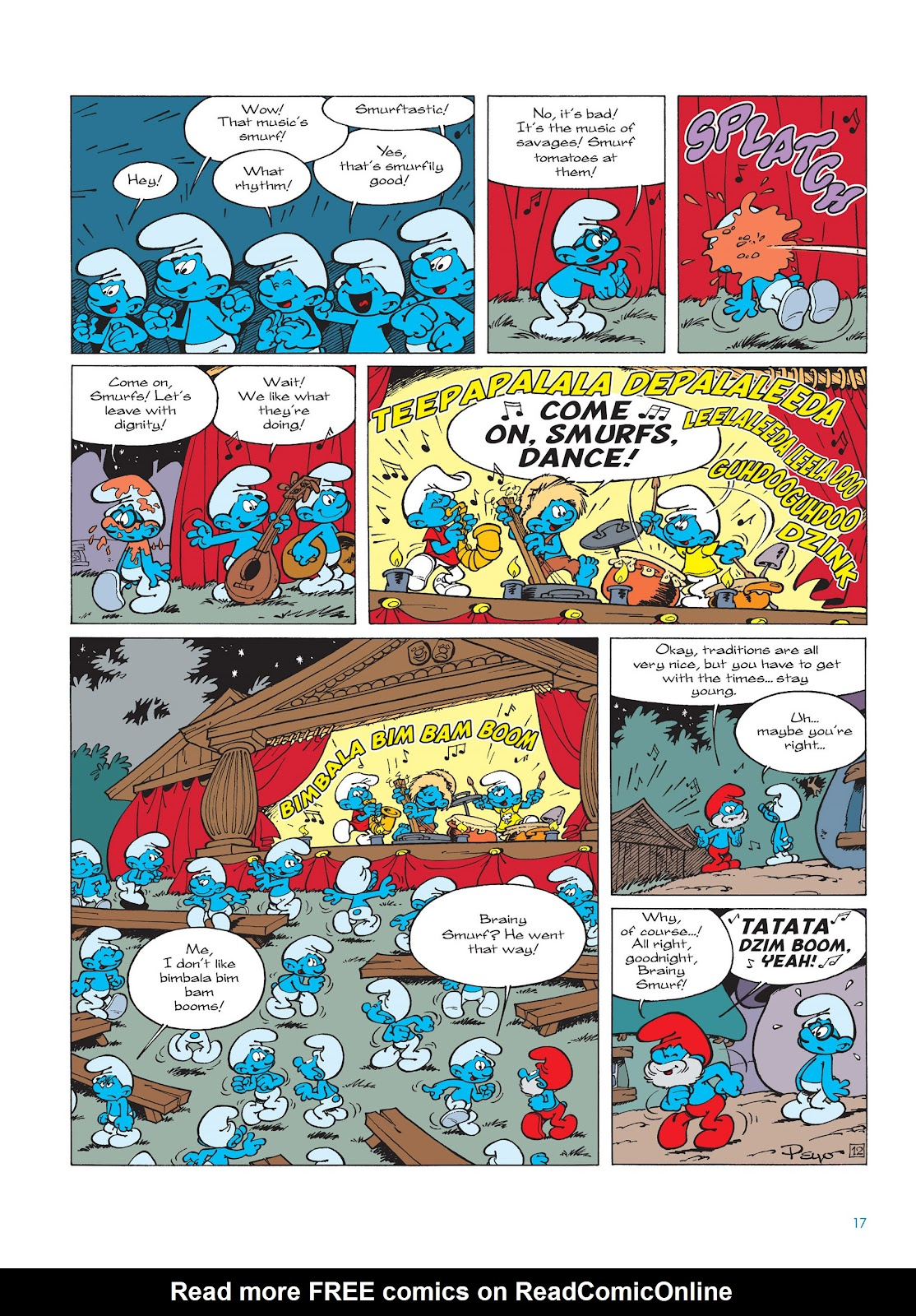 Read online The Smurfs comic -  Issue #15 - 18