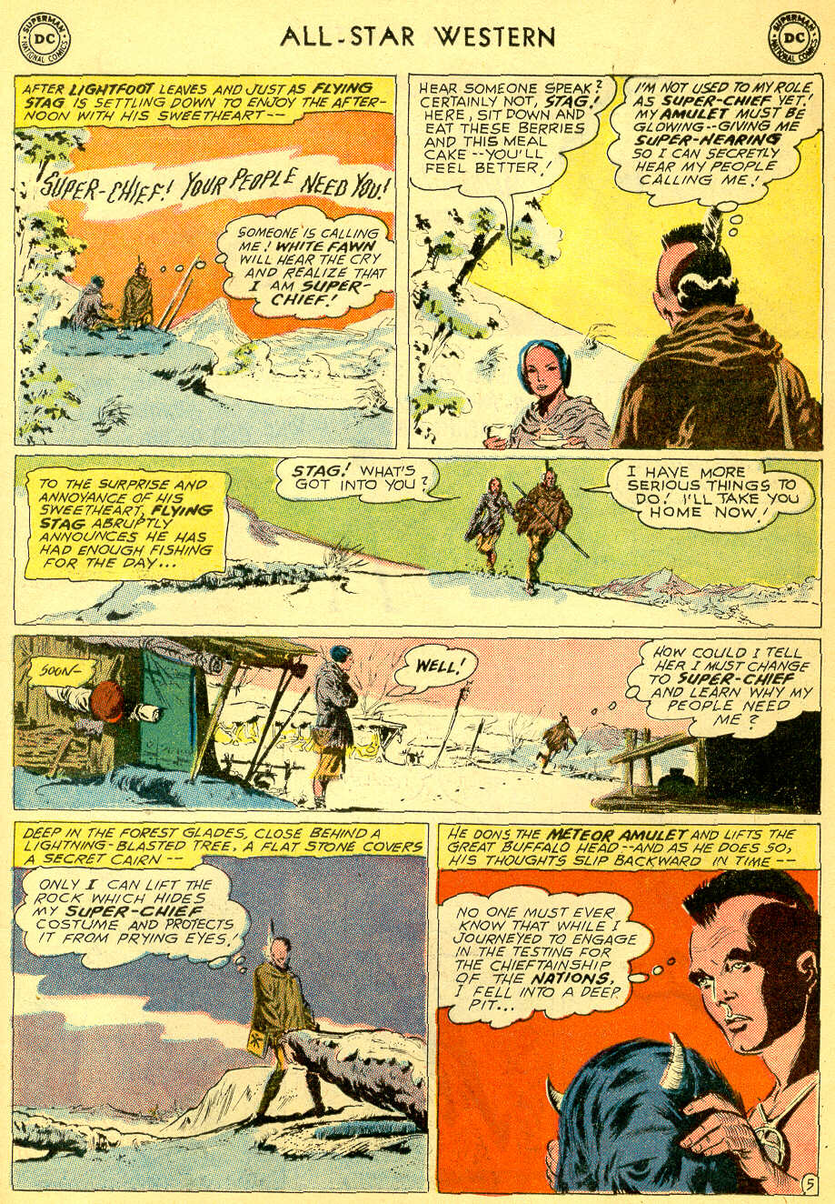 Read online All-Star Western (1951) comic -  Issue #118 - 25