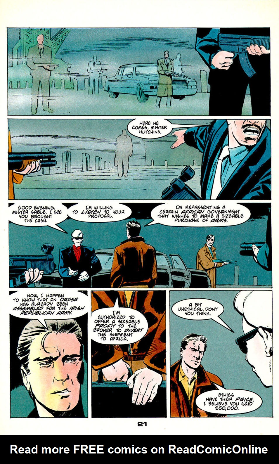 Jon Sable, Freelance issue 54 - Page 23