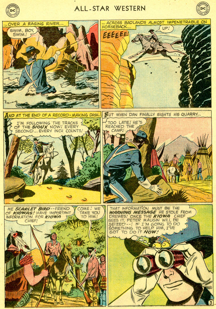 Read online All-Star Western (1951) comic -  Issue #103 - 18