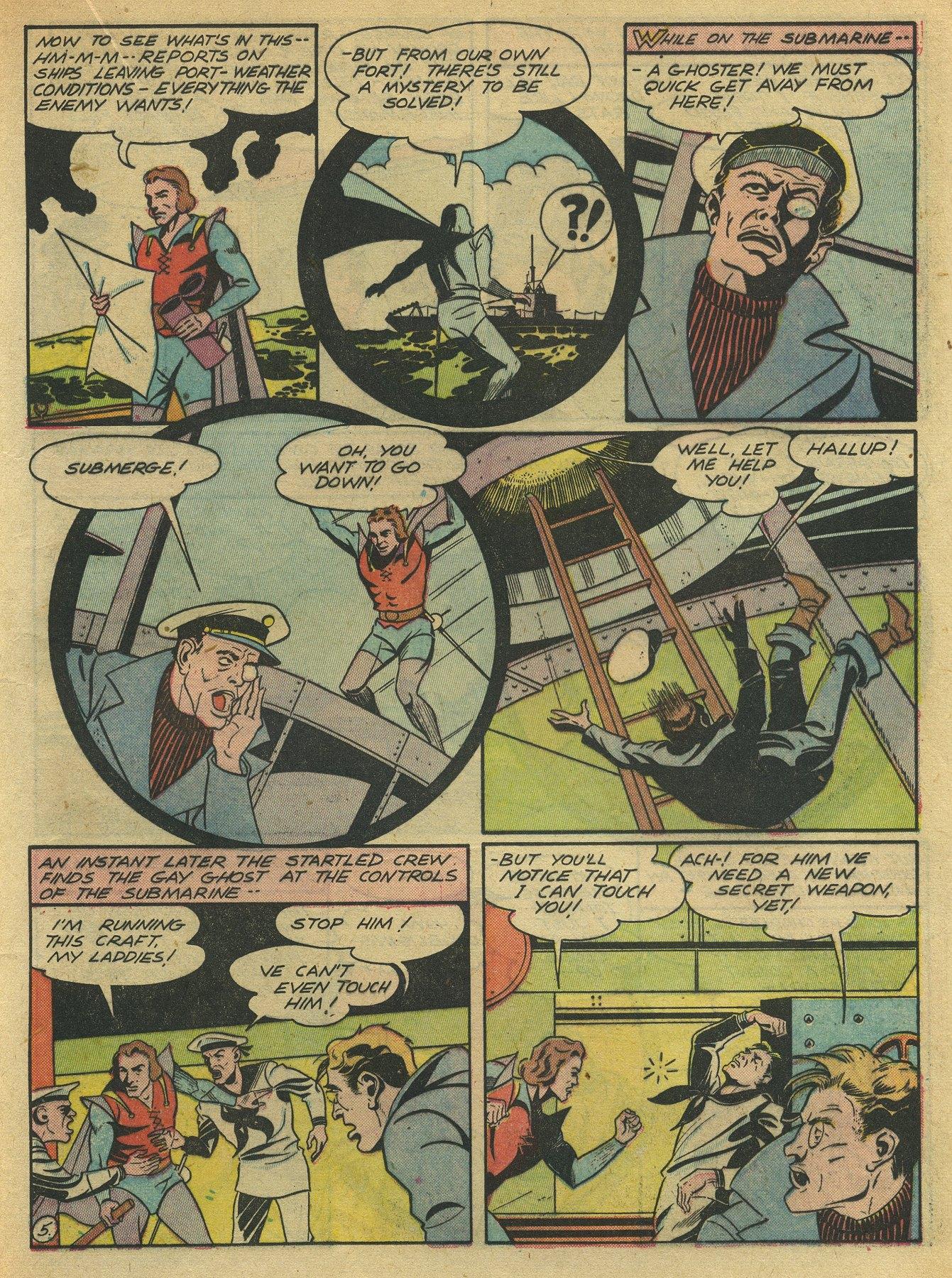 Read online Sensation (Mystery) Comics comic -  Issue #10 - 41