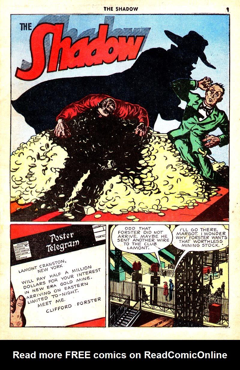 Read online Shadow Comics comic -  Issue #7 - 2