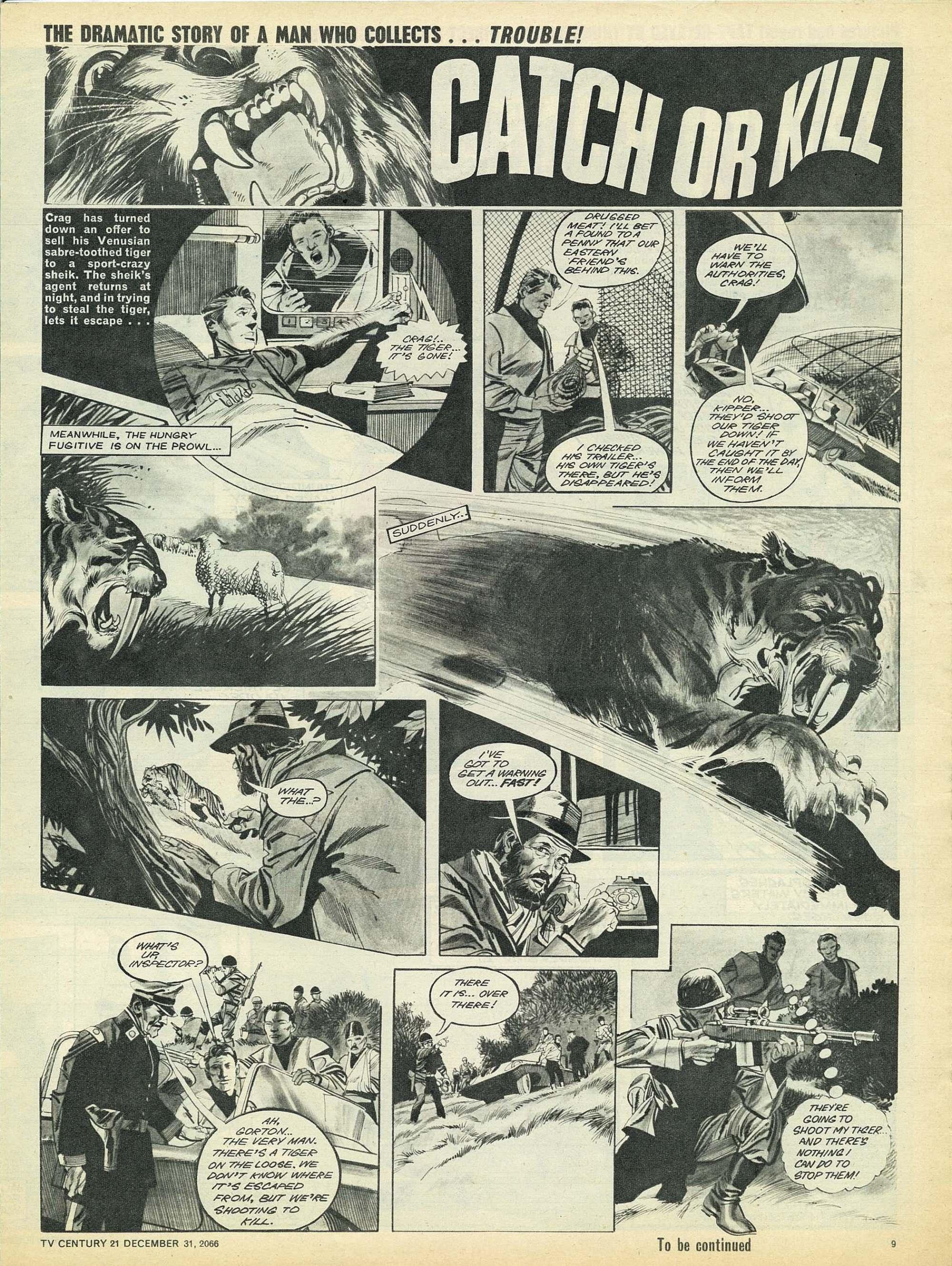 Read online TV Century 21 (TV 21) comic -  Issue #102 - 9