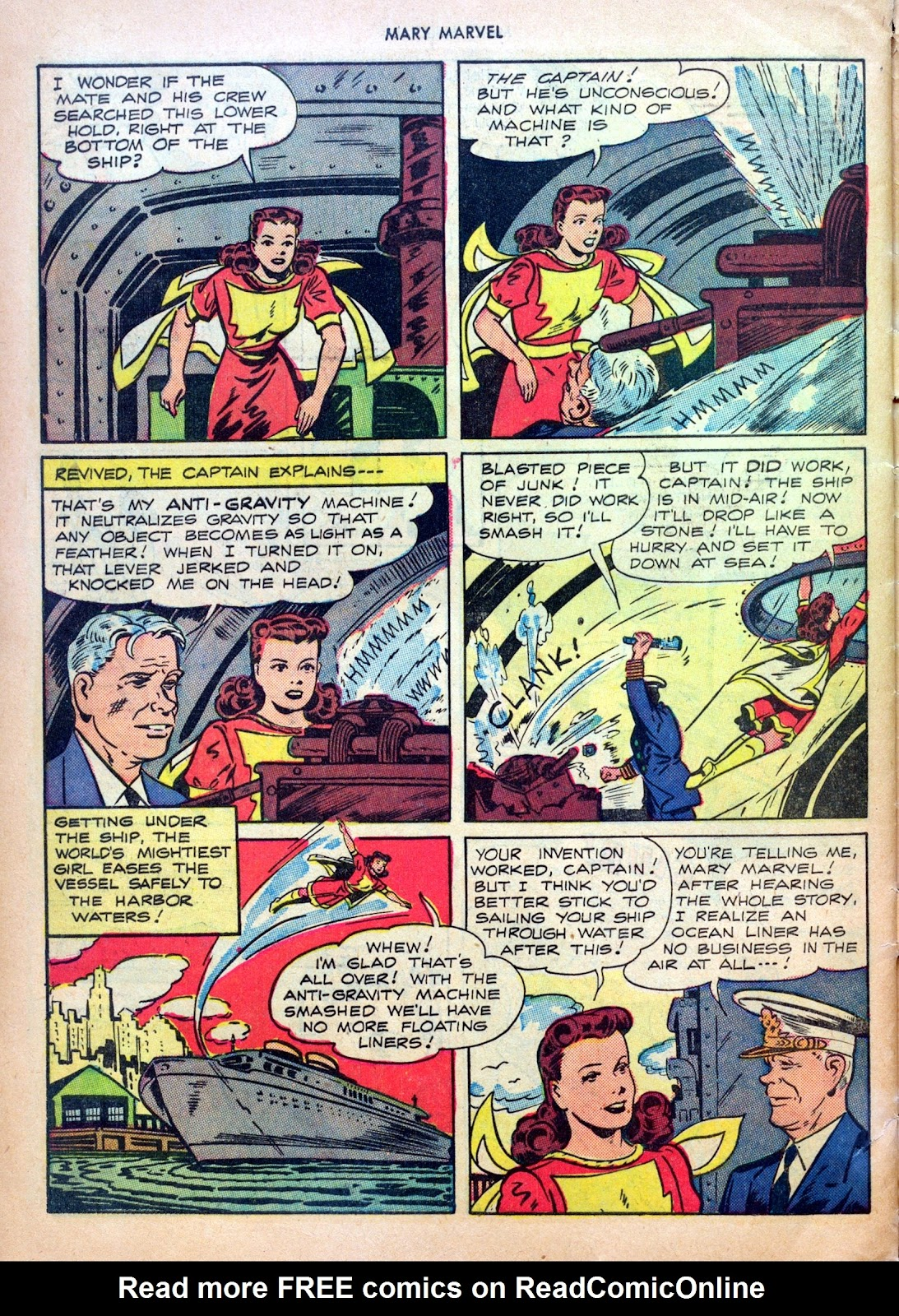 Read online Mary Marvel comic -  Issue #27 - 32