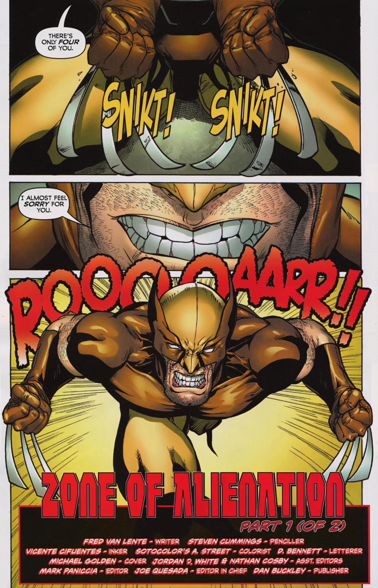 Read online Wolverine: First Class comic -  Issue #7 - 23