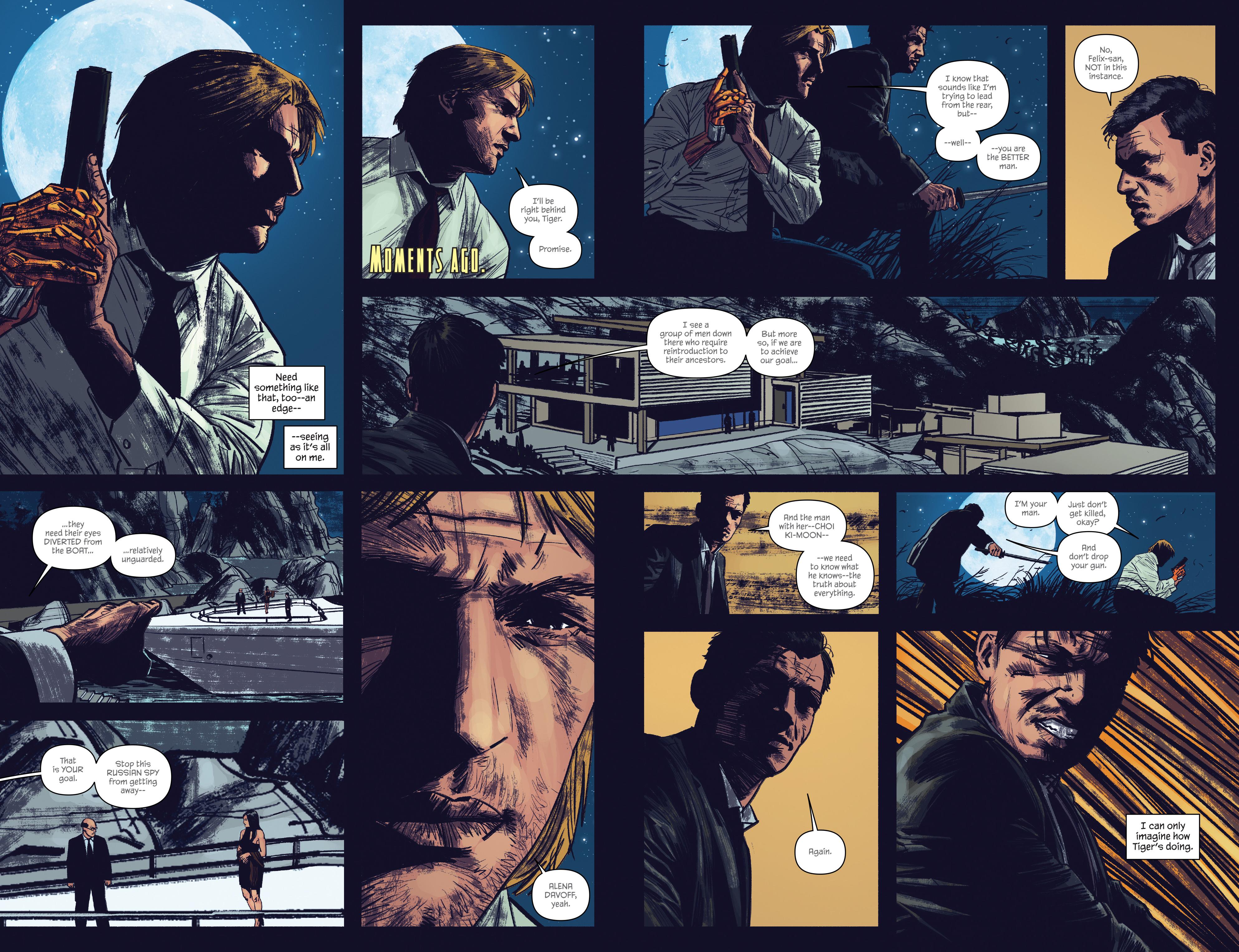 Read online James Bond: Felix Leiter comic -  Issue #5 - 7