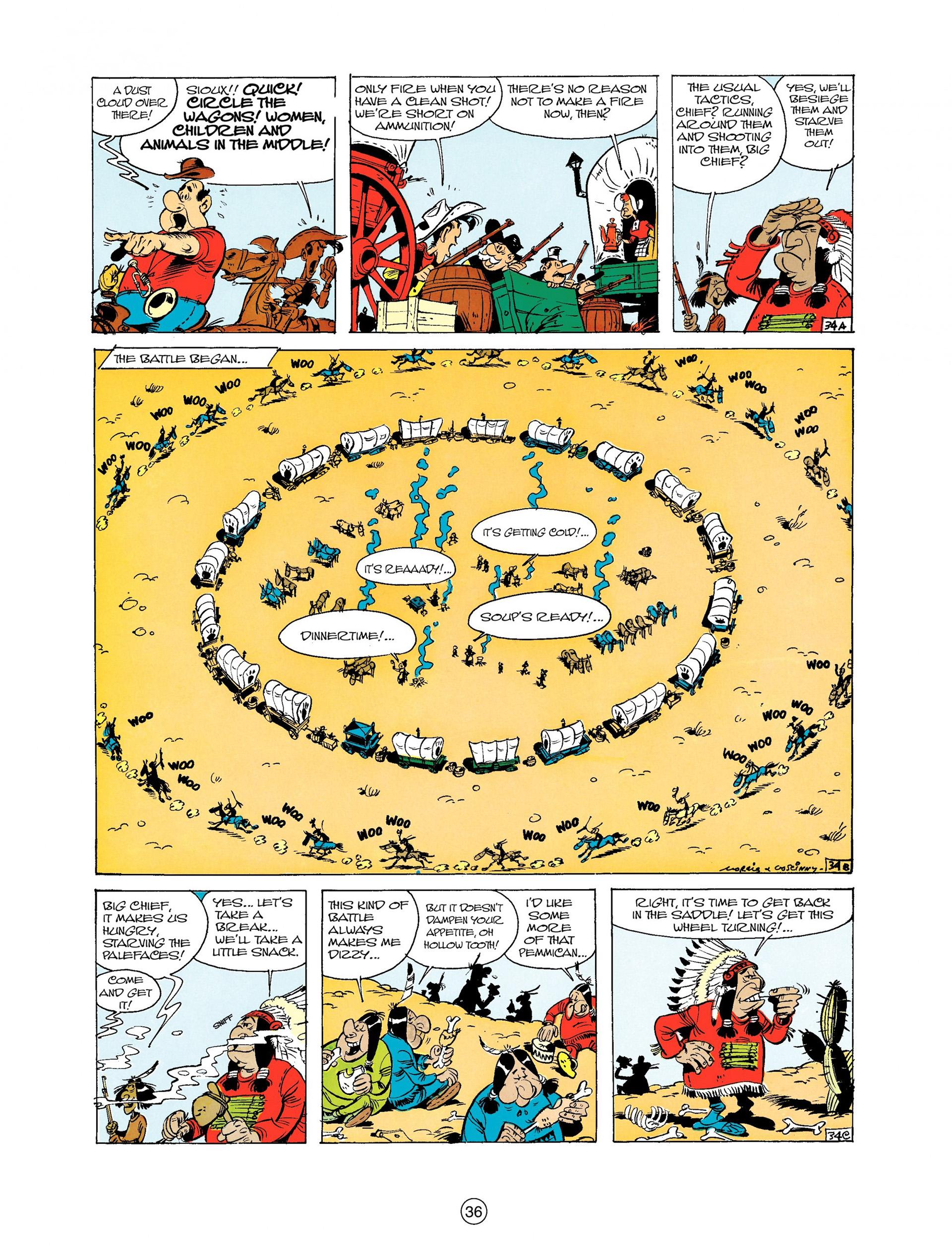 Read online A Lucky Luke Adventure comic -  Issue #9 - 36