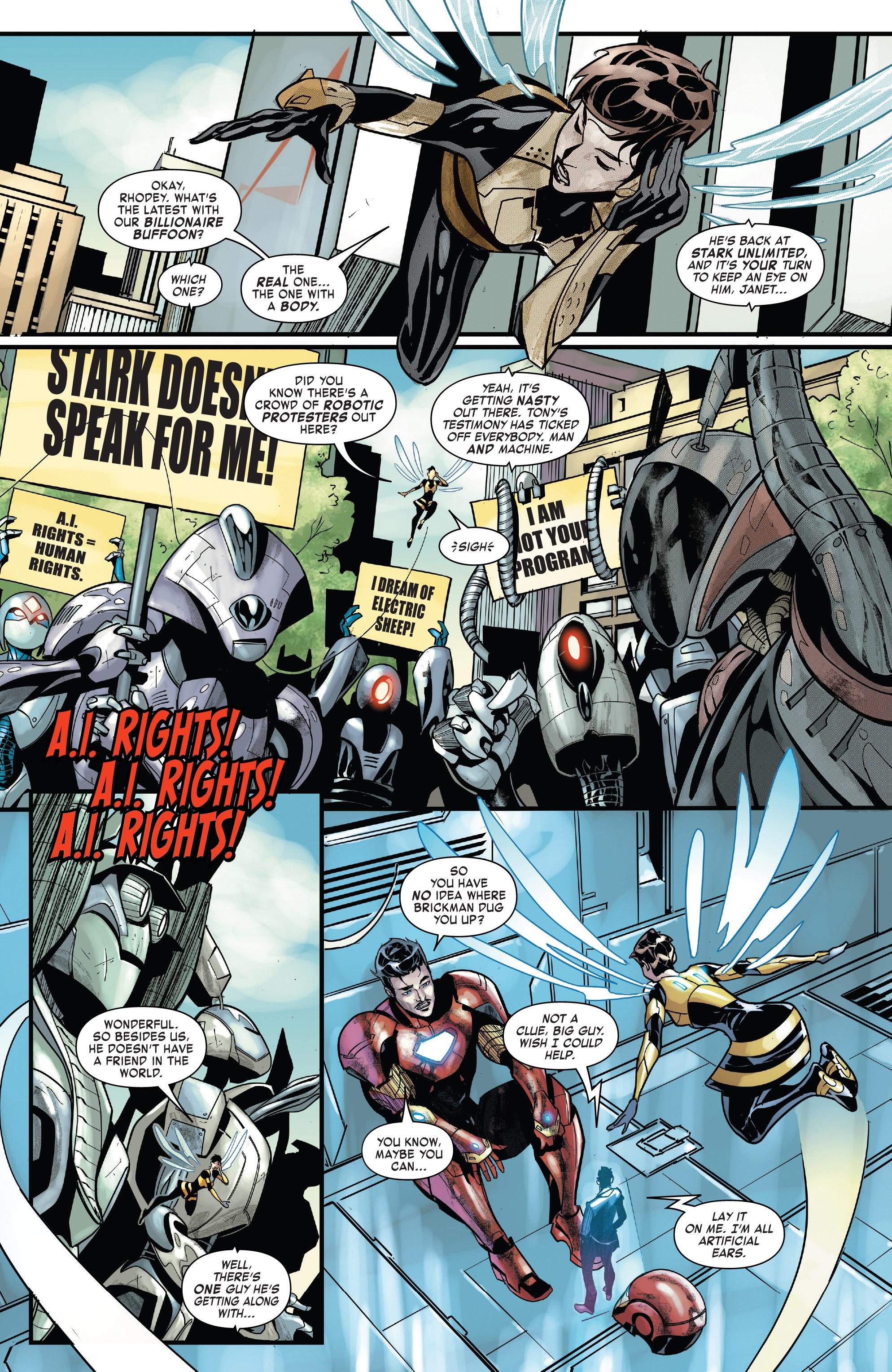 Read online Tony Stark: Iron Man comic -  Issue #15 - 11