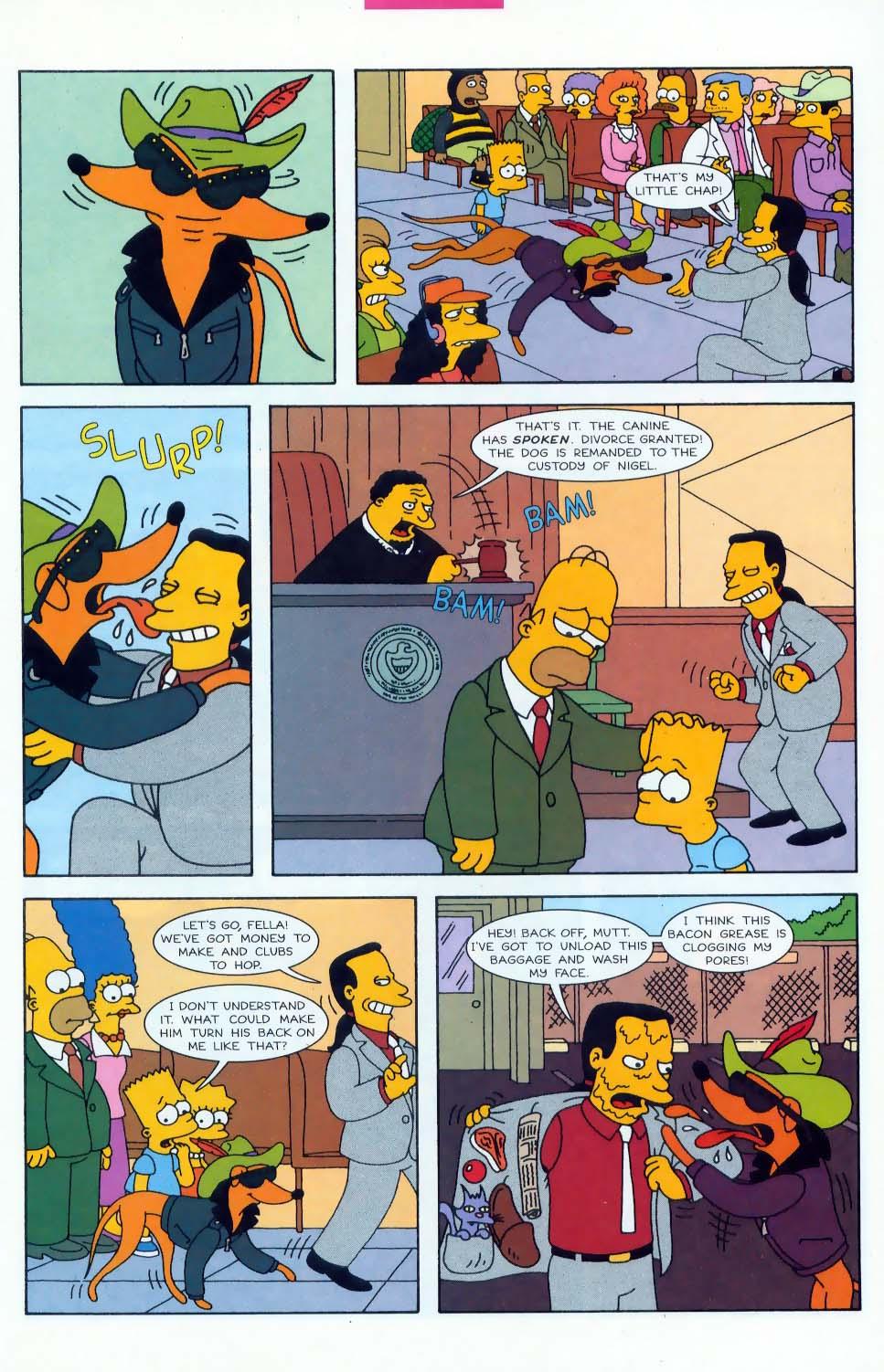Read online Simpsons Comics comic -  Issue #45 - 16