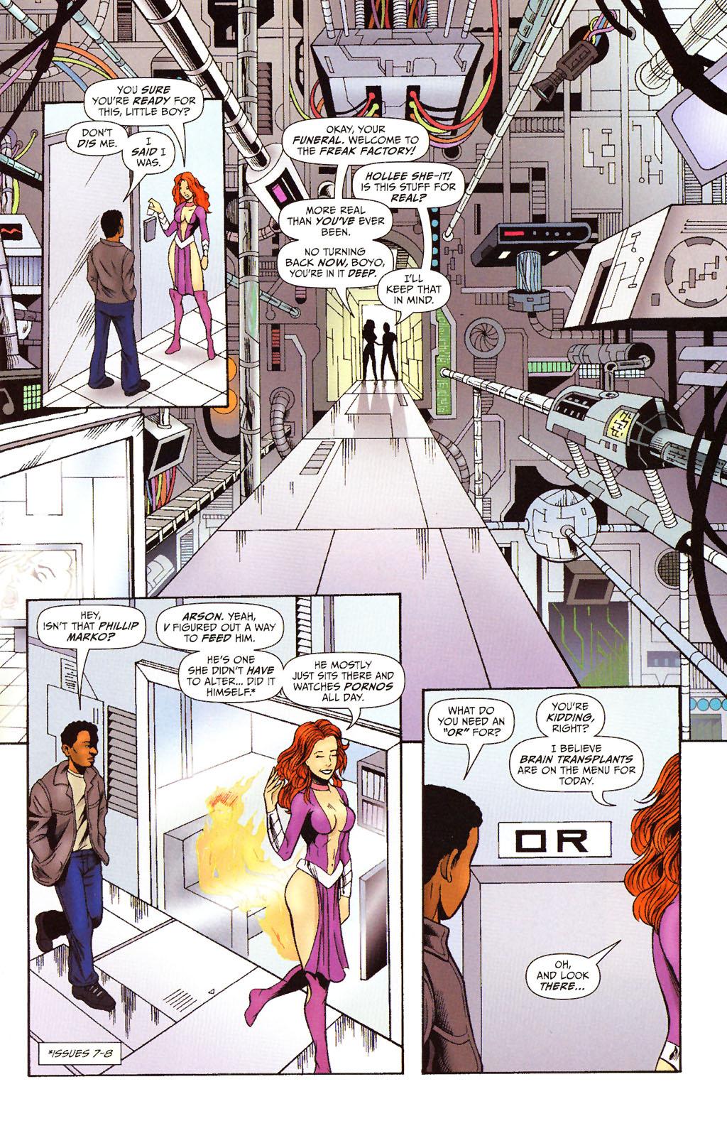 Read online ShadowHawk (2005) comic -  Issue #15 - 12
