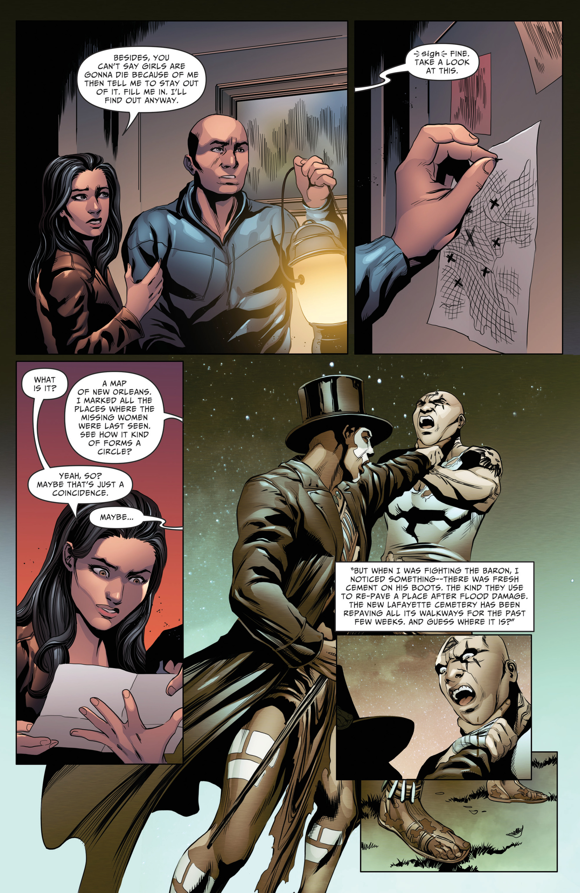Read online Grimm Fairy Tales: Day of the Dead comic -  Issue #4 - 11