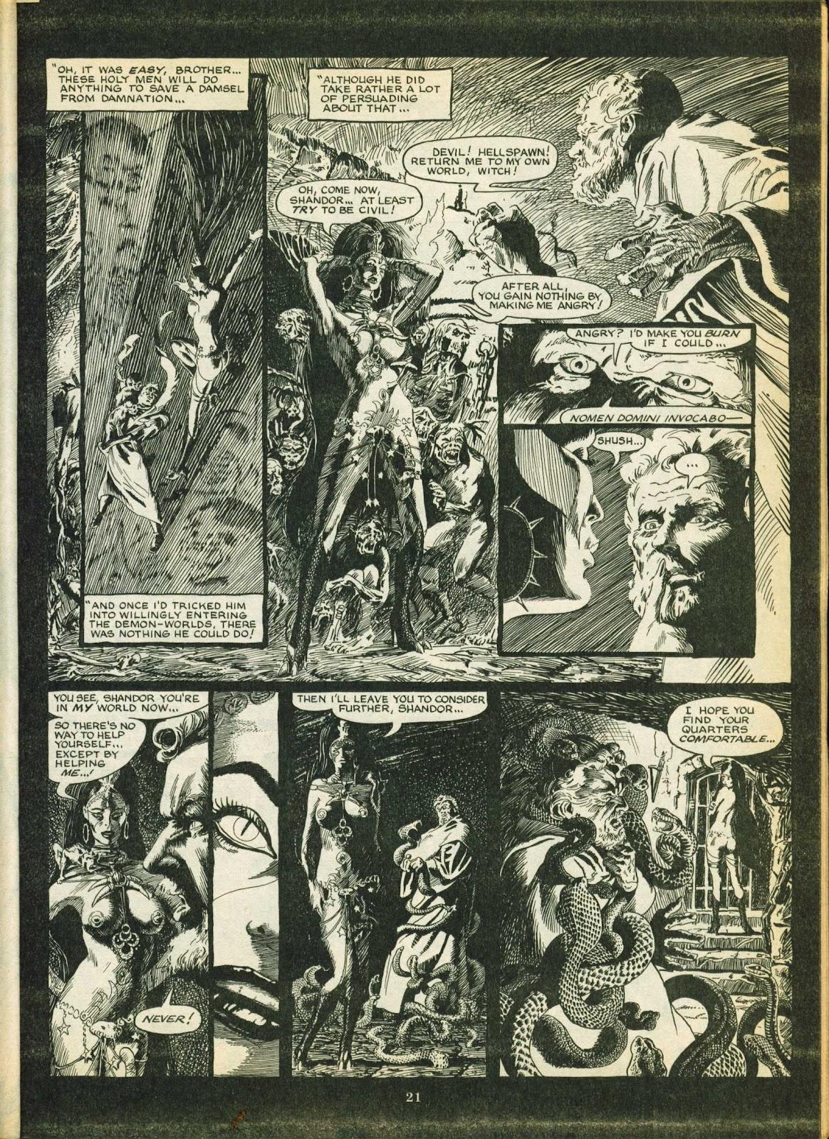 Warrior Issue #5 #6 - English 21