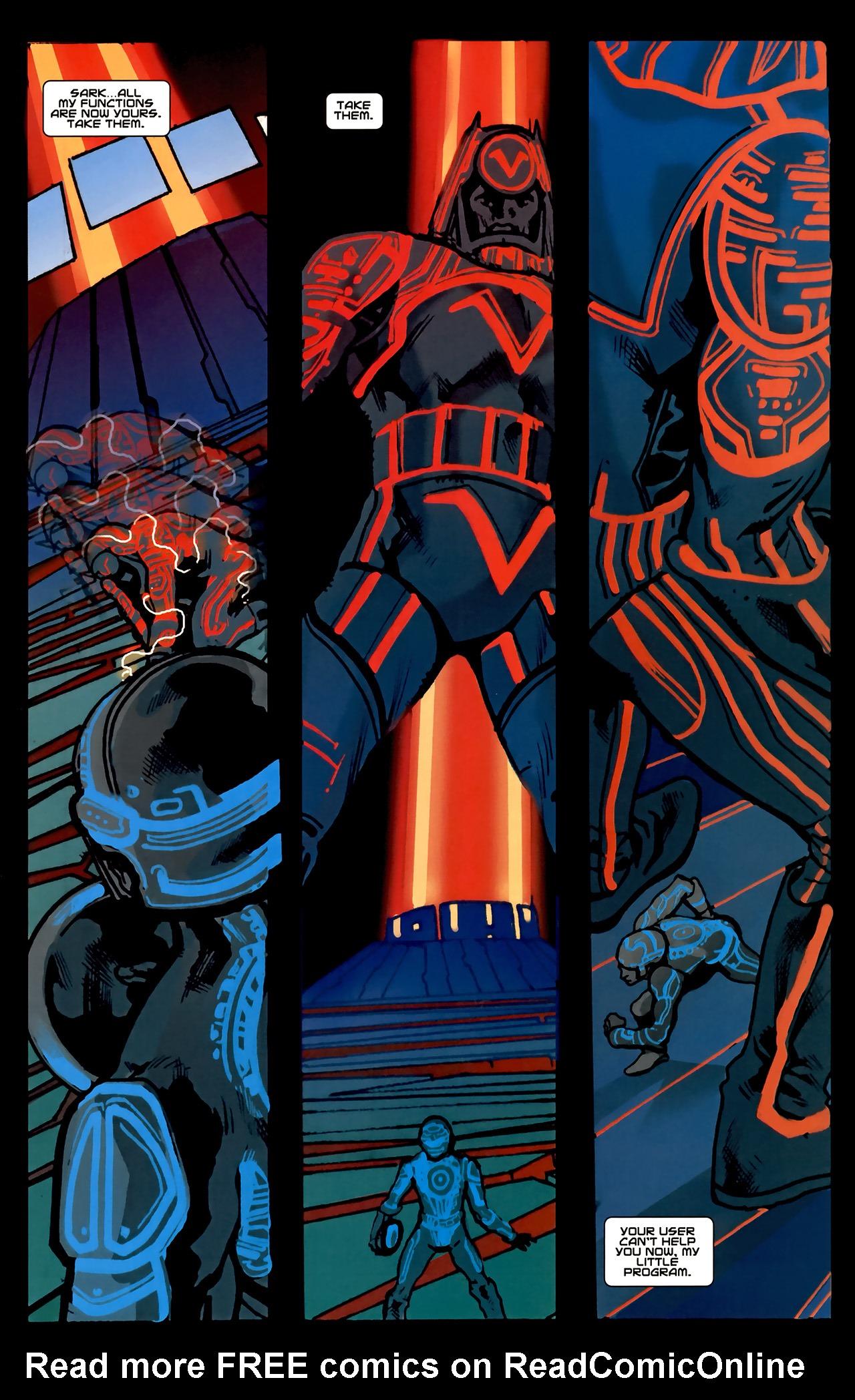 Read online TRON: Original Movie Adaptation comic -  Issue #2 - 30