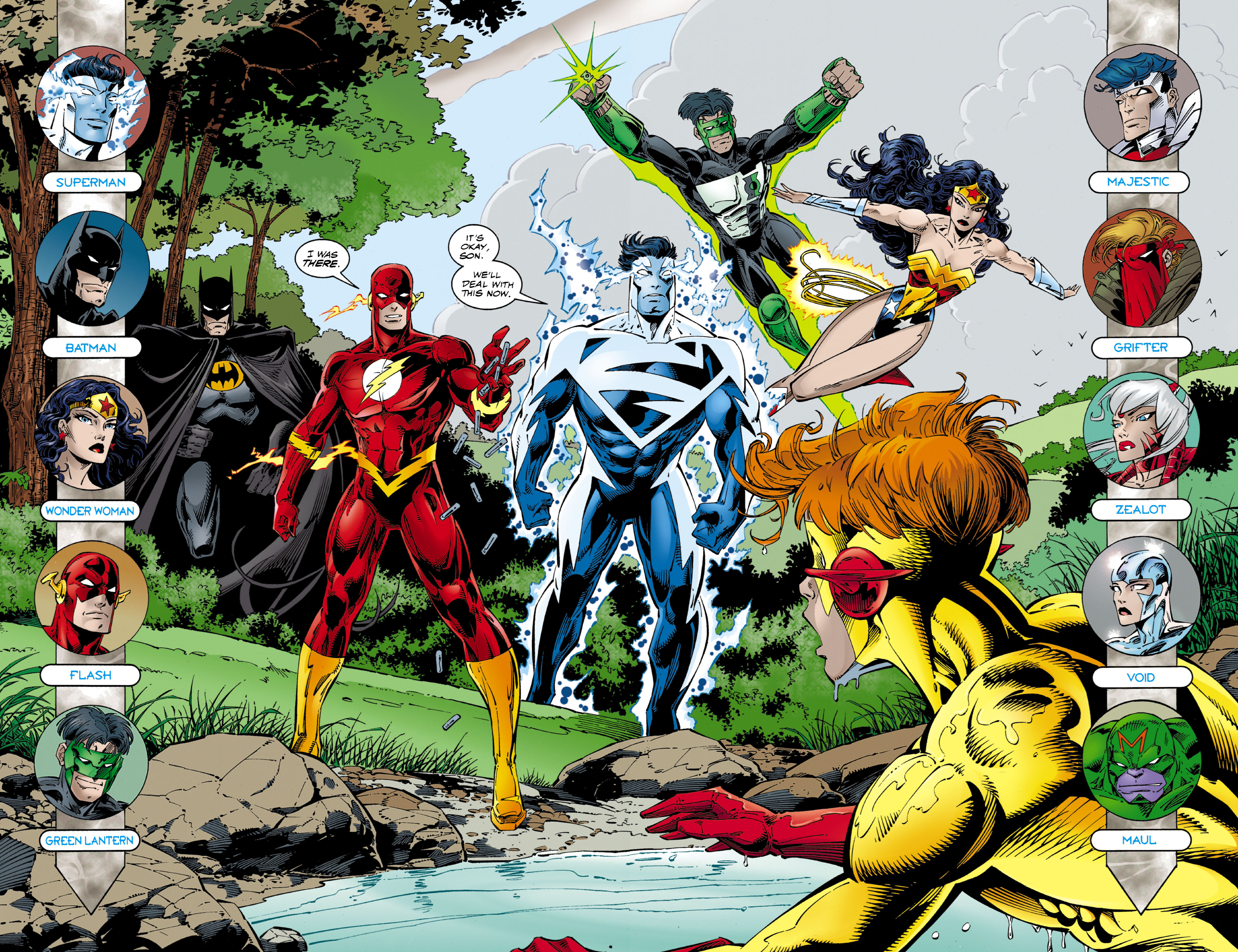 Read online JLA/WildC.A.T.s comic -  Issue # Full - 5